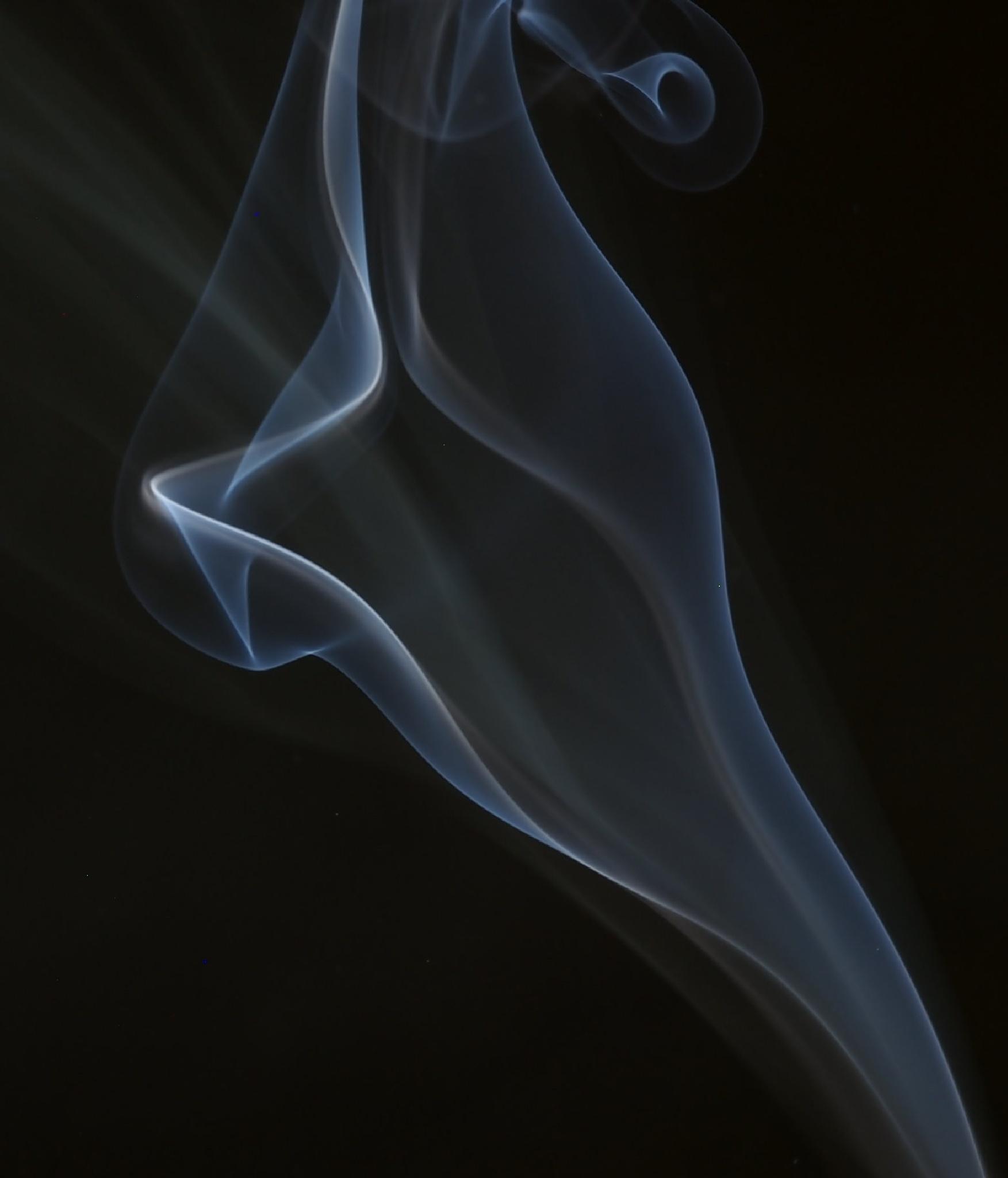 """Smoke Image #? "" by CharlieBaugh"