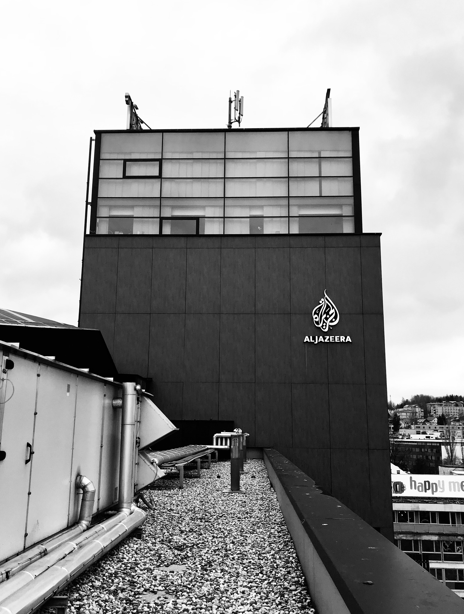 #ajbalkans #makingnews #journalism #urbanarchitecture #cityscape #sarajevo by Anne Marie Alves-Curcic