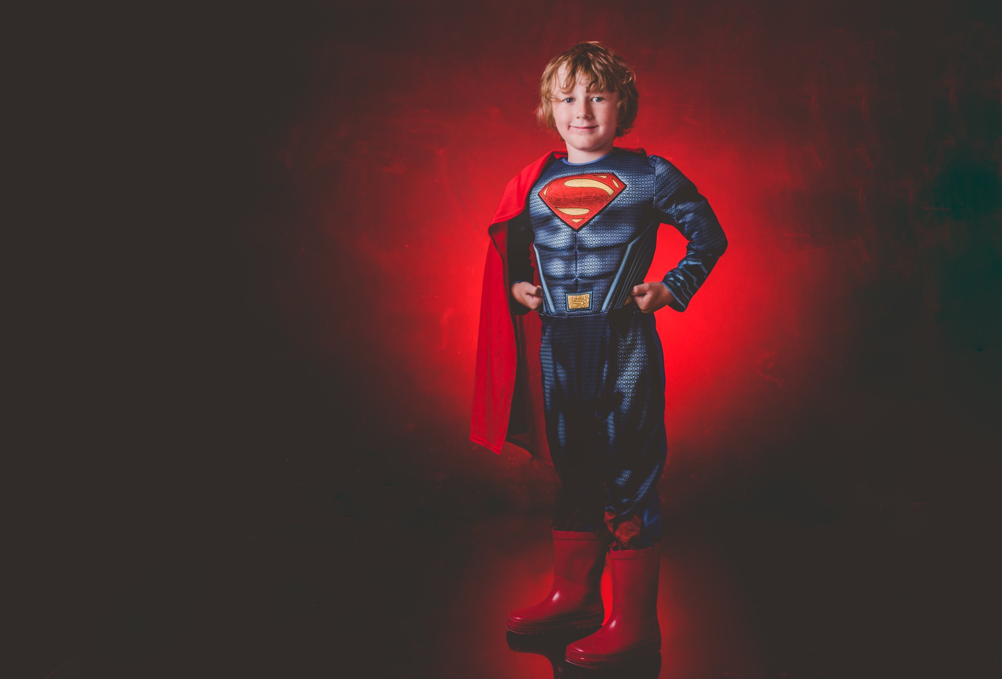 super kid by Steven sparkes