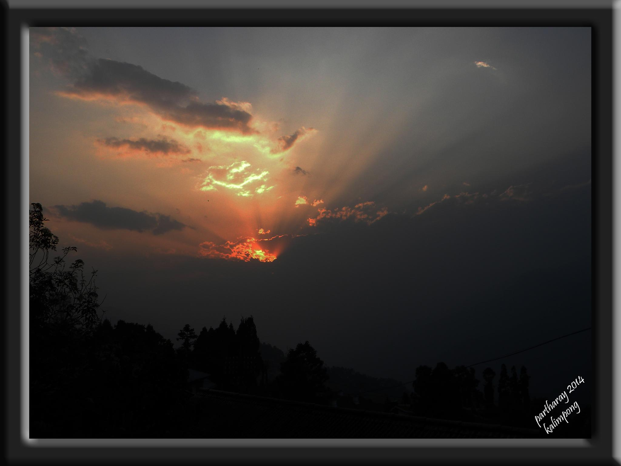 sunrise at Kalimpong by RayPatti's Photography