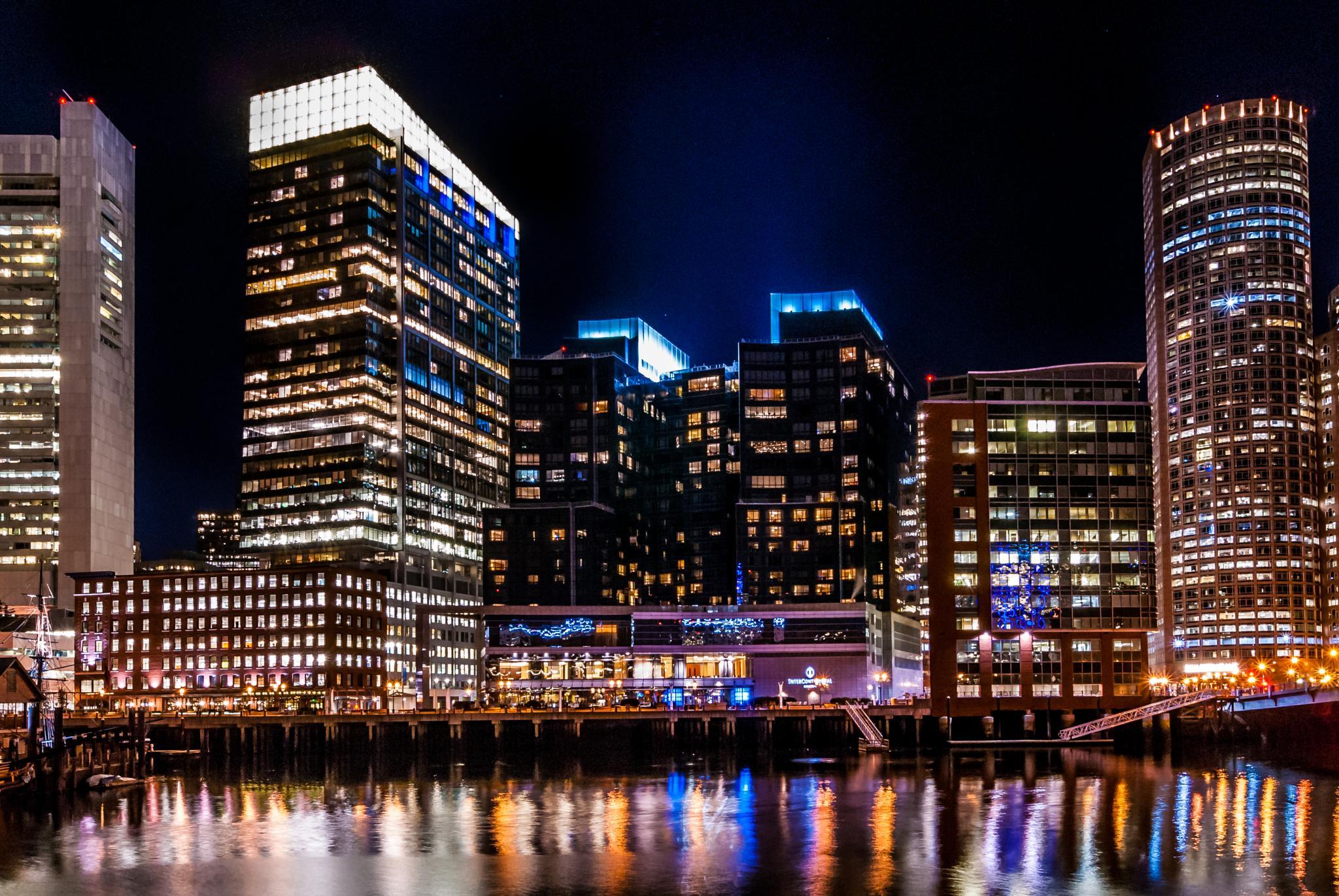 Boston Tea Party Cityscape by philevs