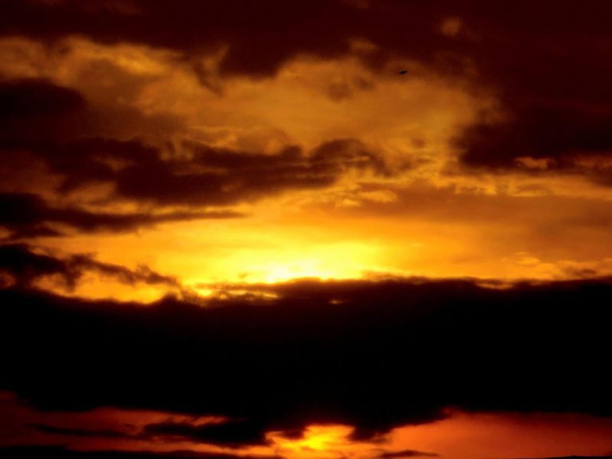 Sunset over Campbellsville, Kentucky by Quentin den Braber
