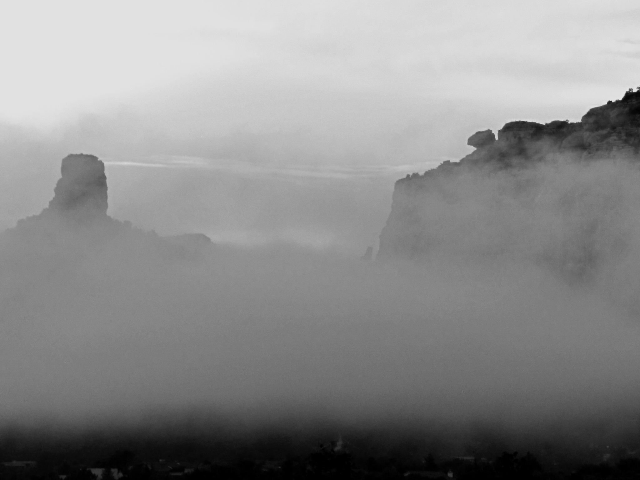Black and White Mist by molterserrano