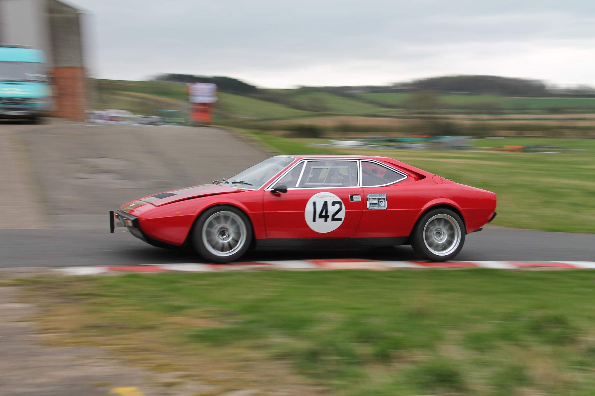 Ferrari Dino by Leon Wall