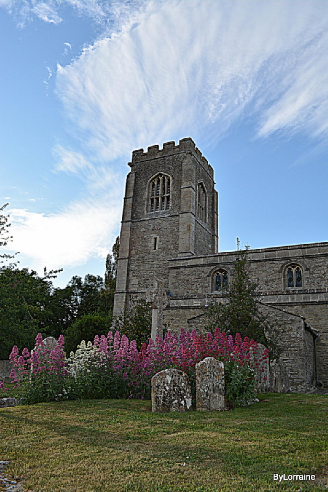 Village Church by Lorraine. Sgt