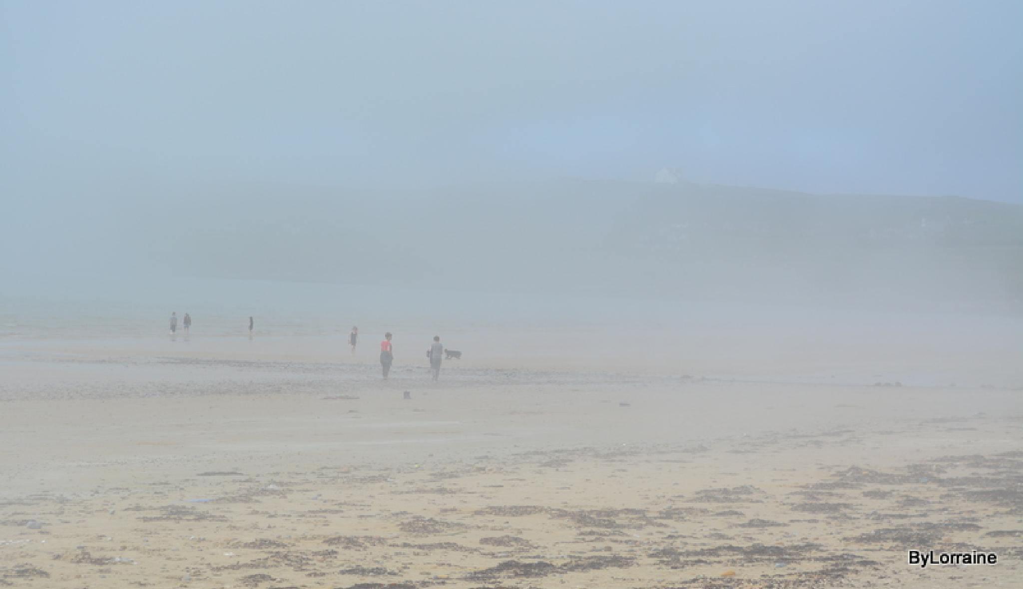 Lowry Style Beach Shot by Lorraine. Sgt
