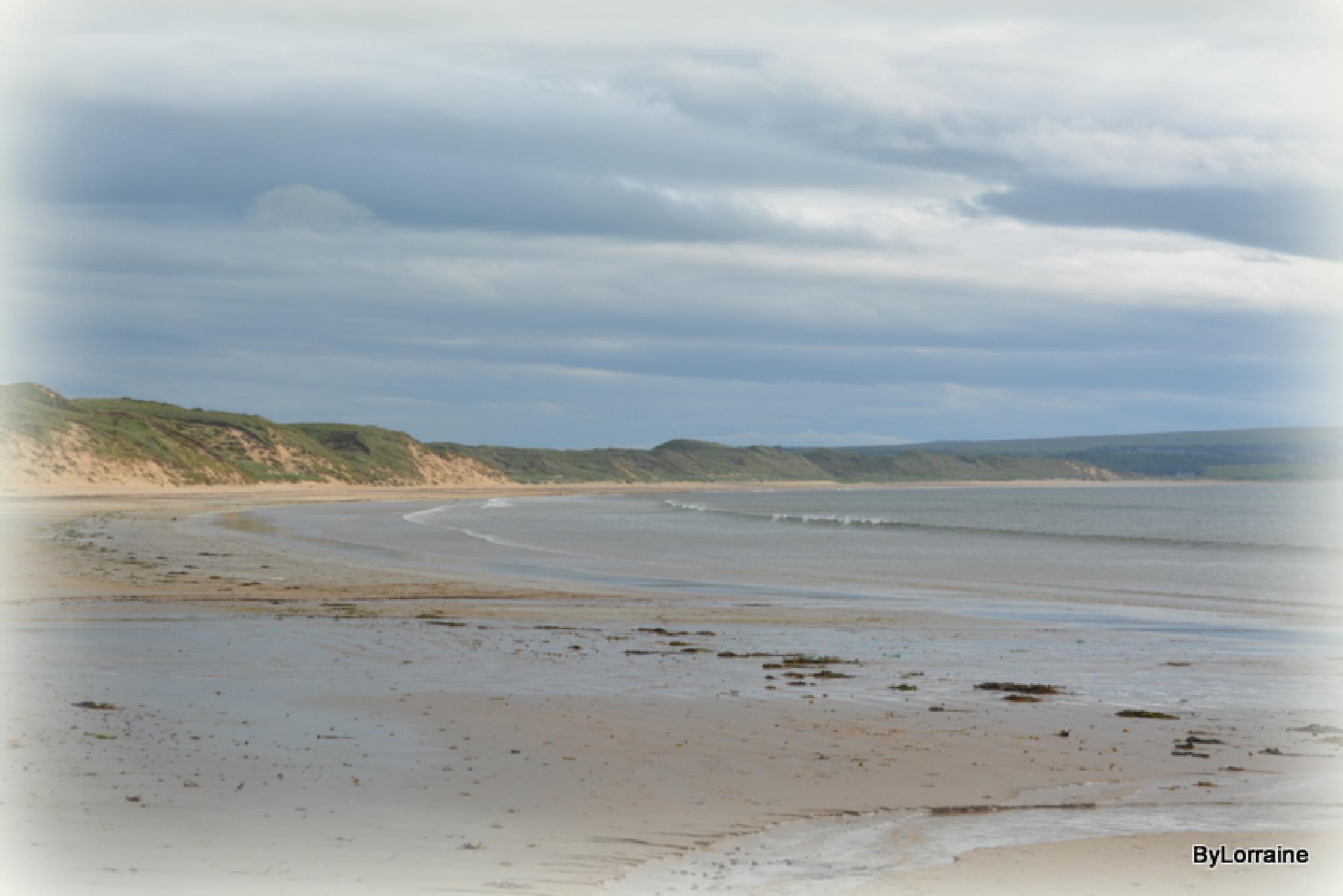 Dunnet Bay by Lorraine. Sgt