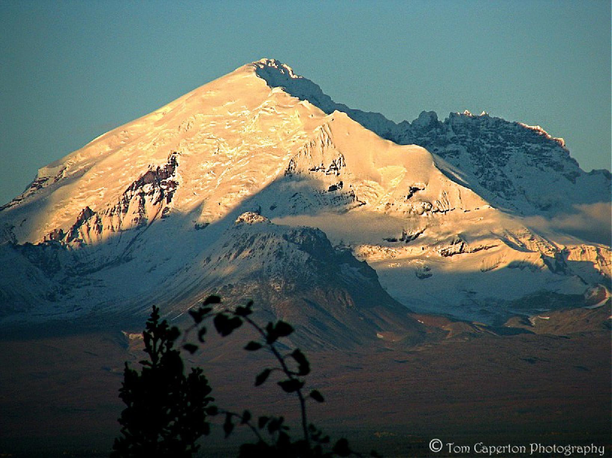Wrangell Mountains - Alaska by Tom Caperton