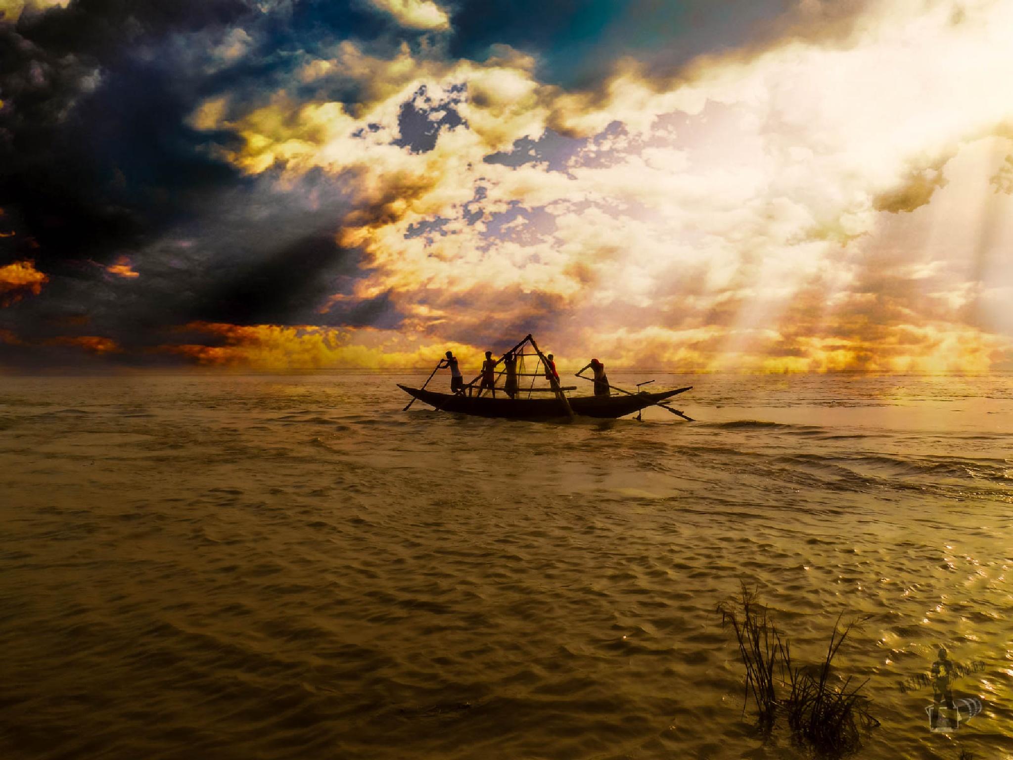 Fishing-0238-Late Sunset Tears by ЯДJJIБ'S PЂØŦØ