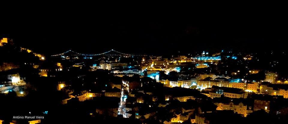 The charm of Lisbon by Night by Antoniocvieira