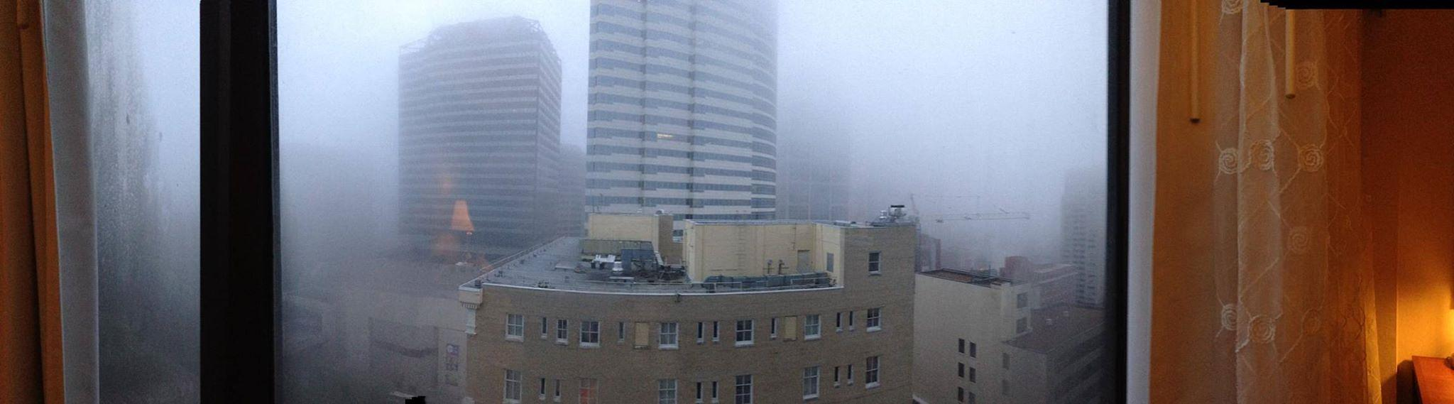 Nashville In The Fog by AllySylum