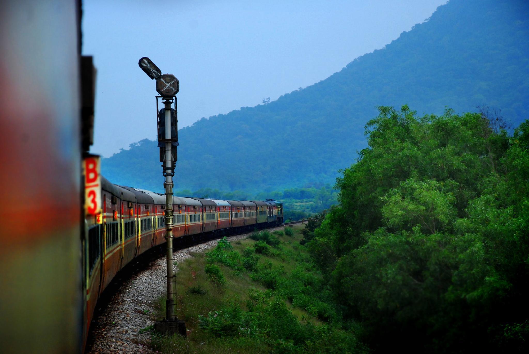 Rajdhani Express by Rauf