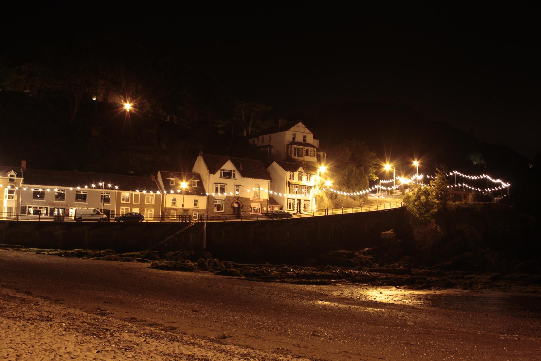 Night beach by ashley.cox.1806