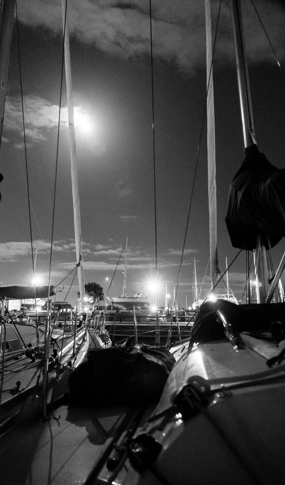 Boats at rest by Steve Garratt