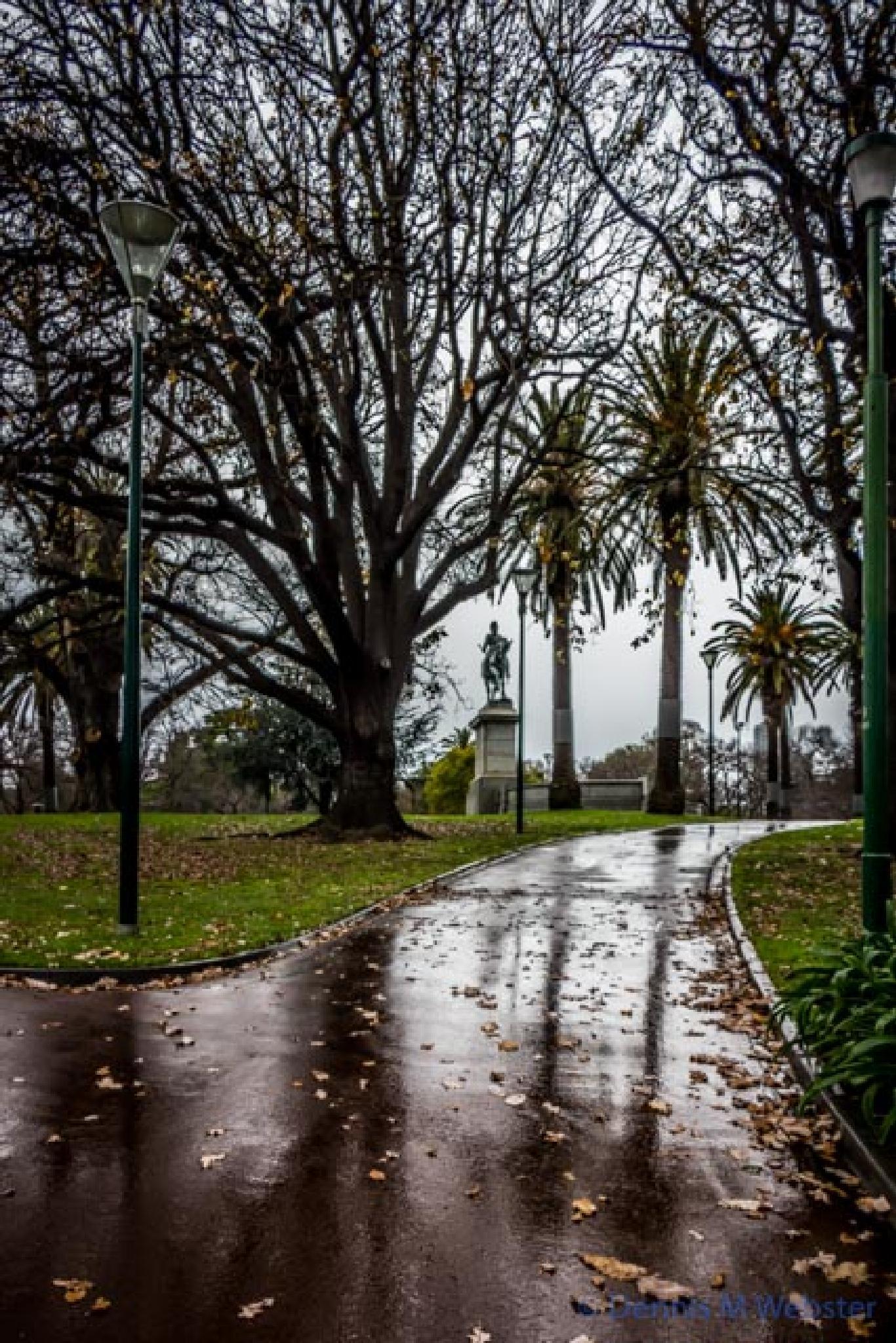 Gloomy path up to George by tastigr
