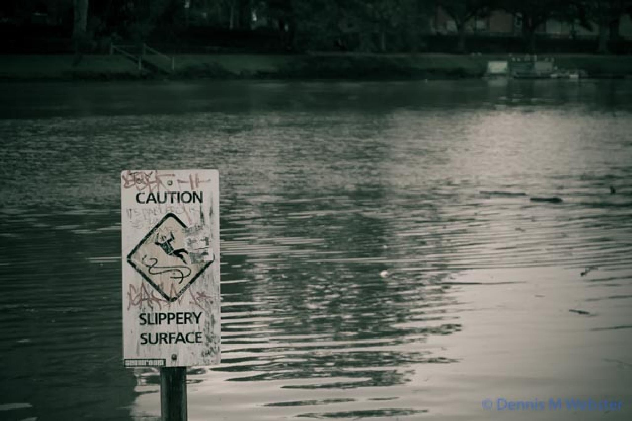 not only slippery, probably wet by tastigr