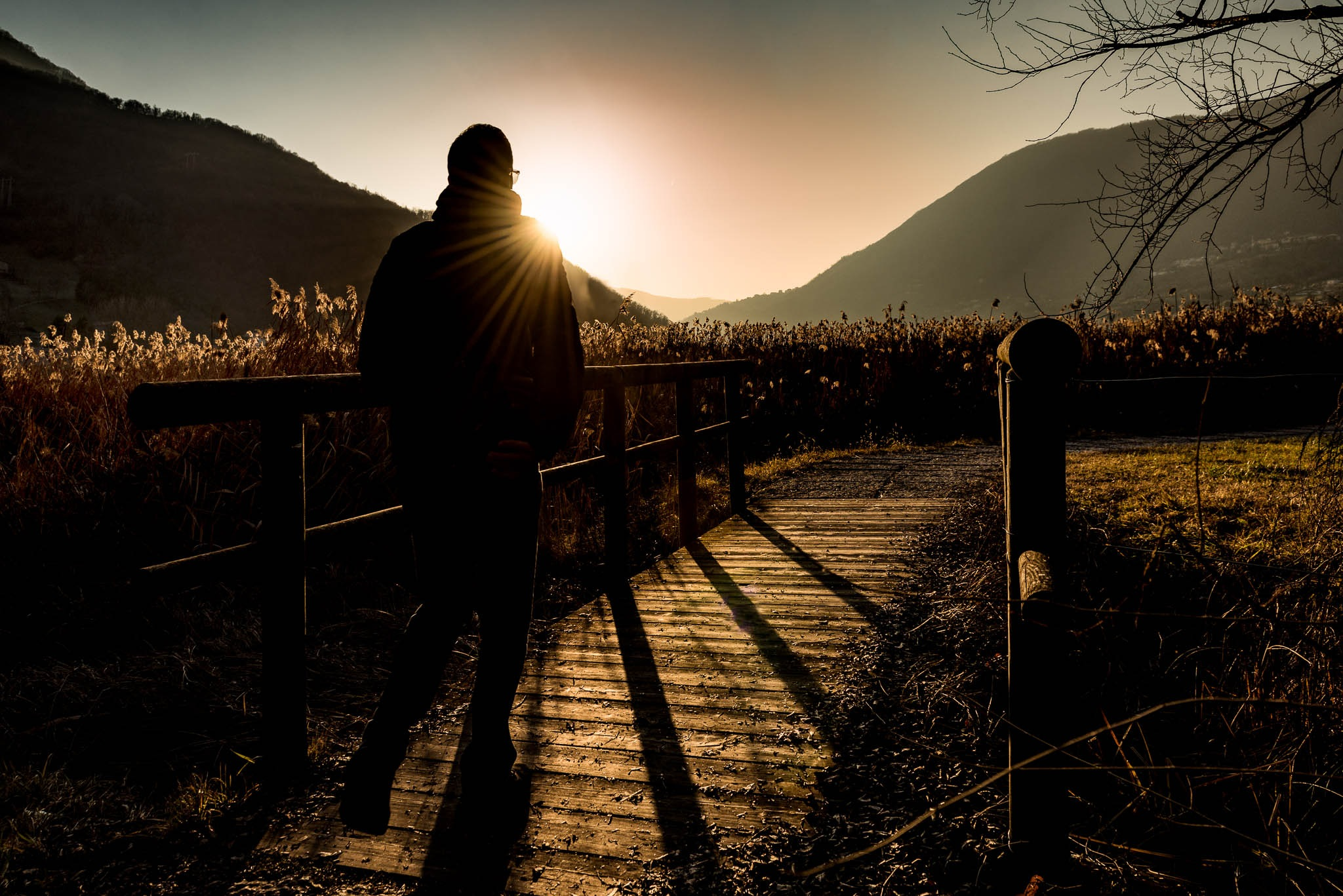 Walking in the golden hour by roberto.fustinoni.60