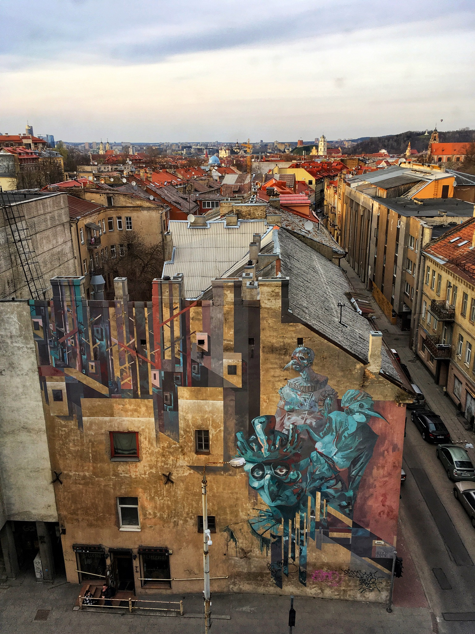 Vilnius' roofs  by gabrielefabrizios
