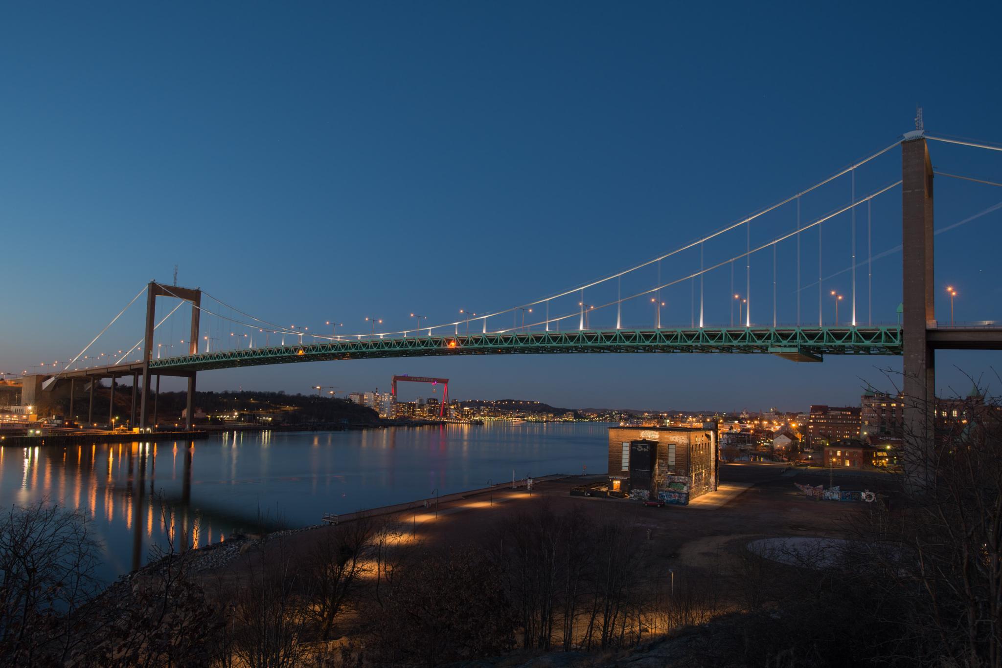 Älvsborgsbron, Göteborg by Niklas Olausson