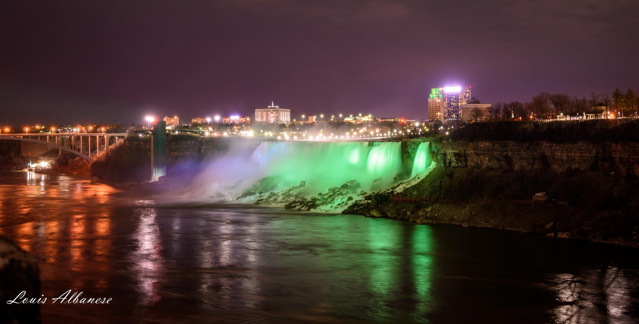 Niagara in Green by NakinaManitou
