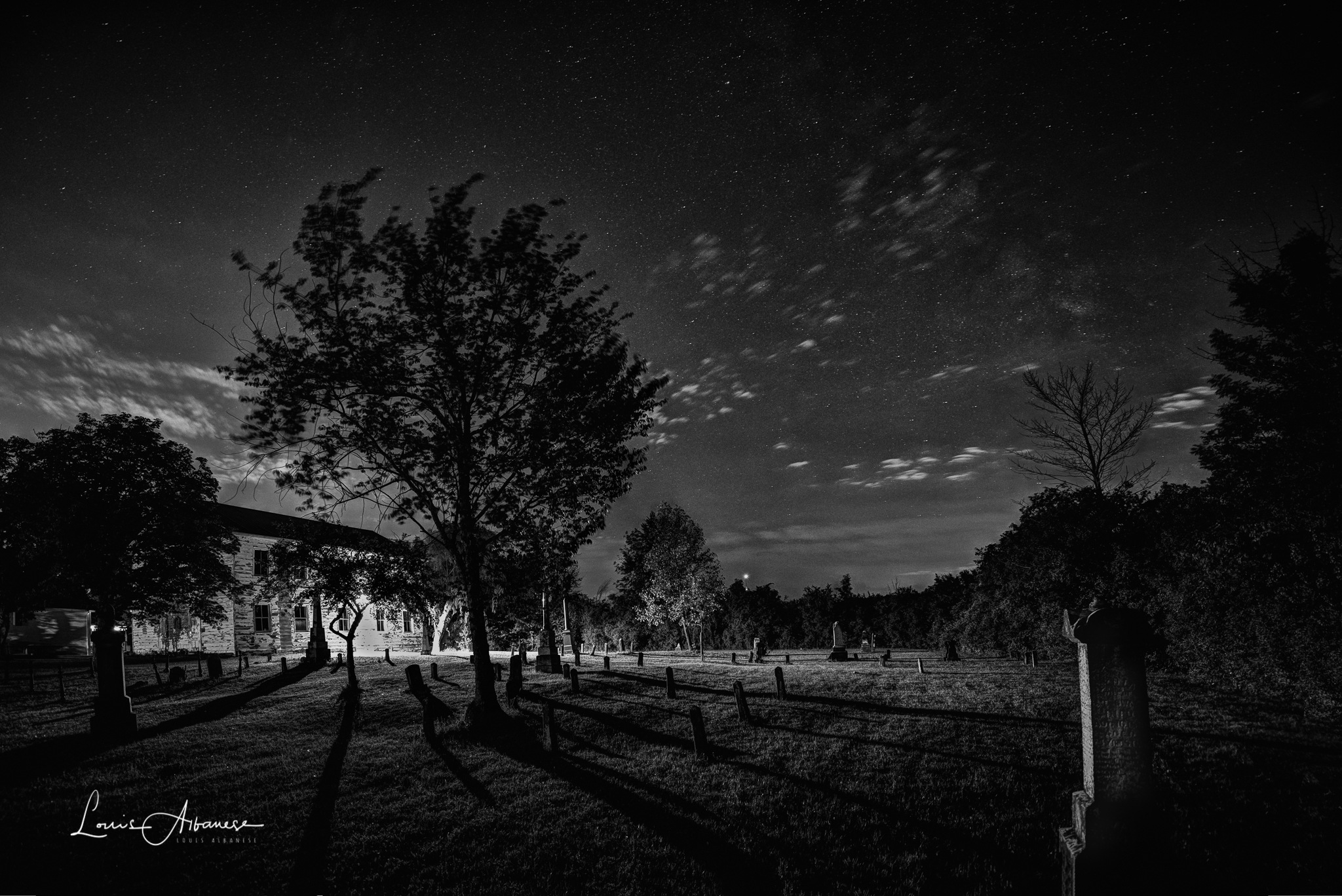 Midnight at Beaverdams by NakinaManitou