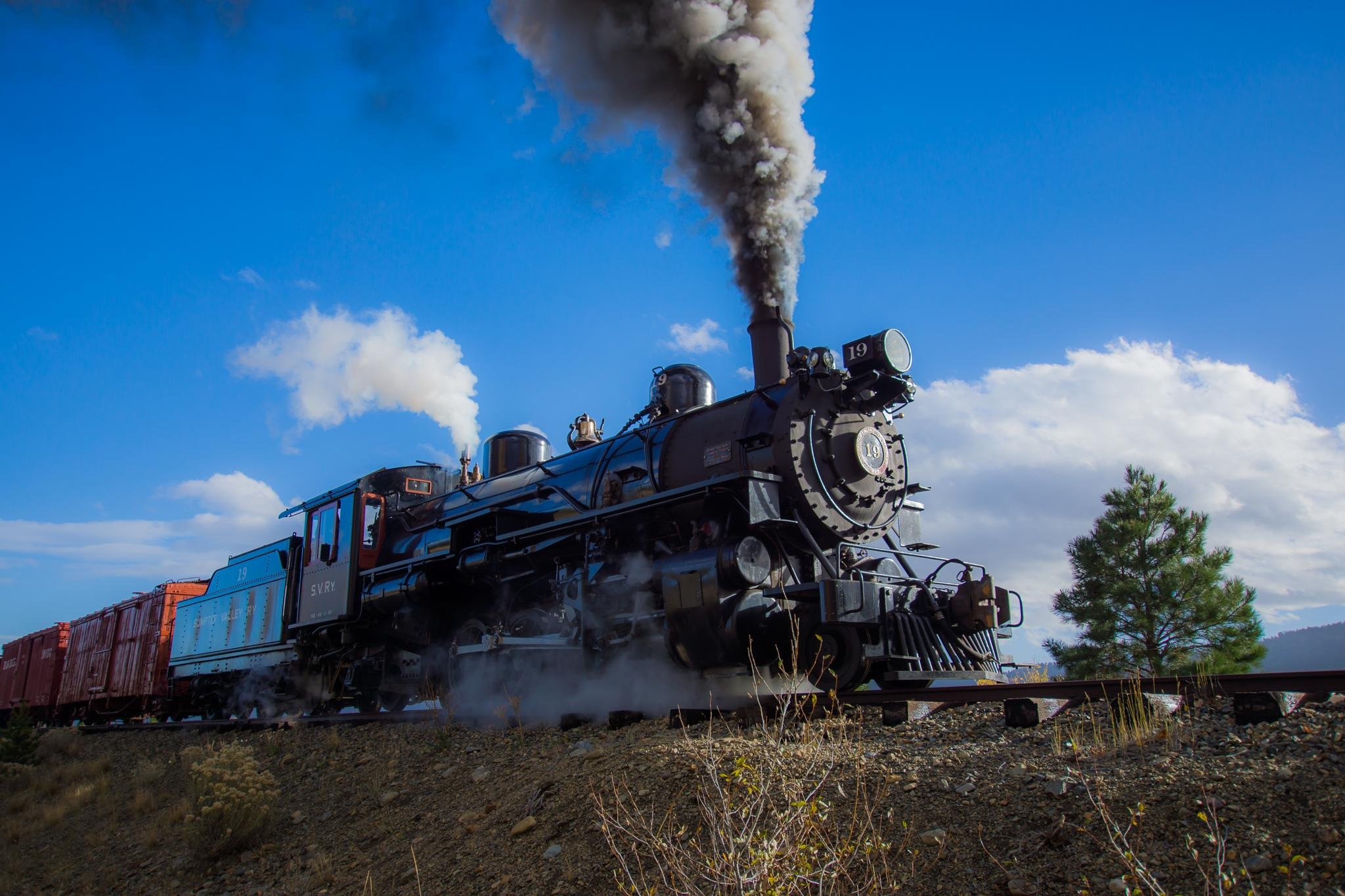 Sumpter Valley Train by Ranbud