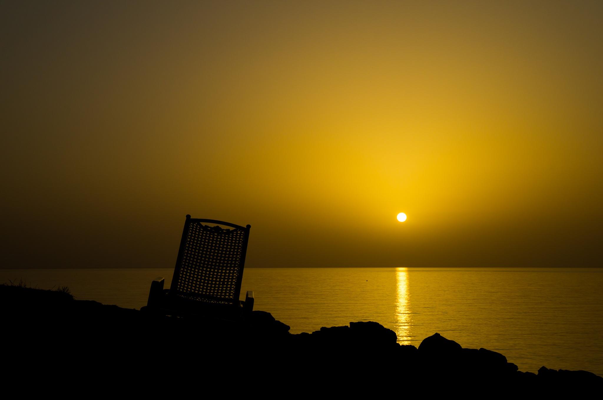 Sunrise in Lindos by Fabio Drigo