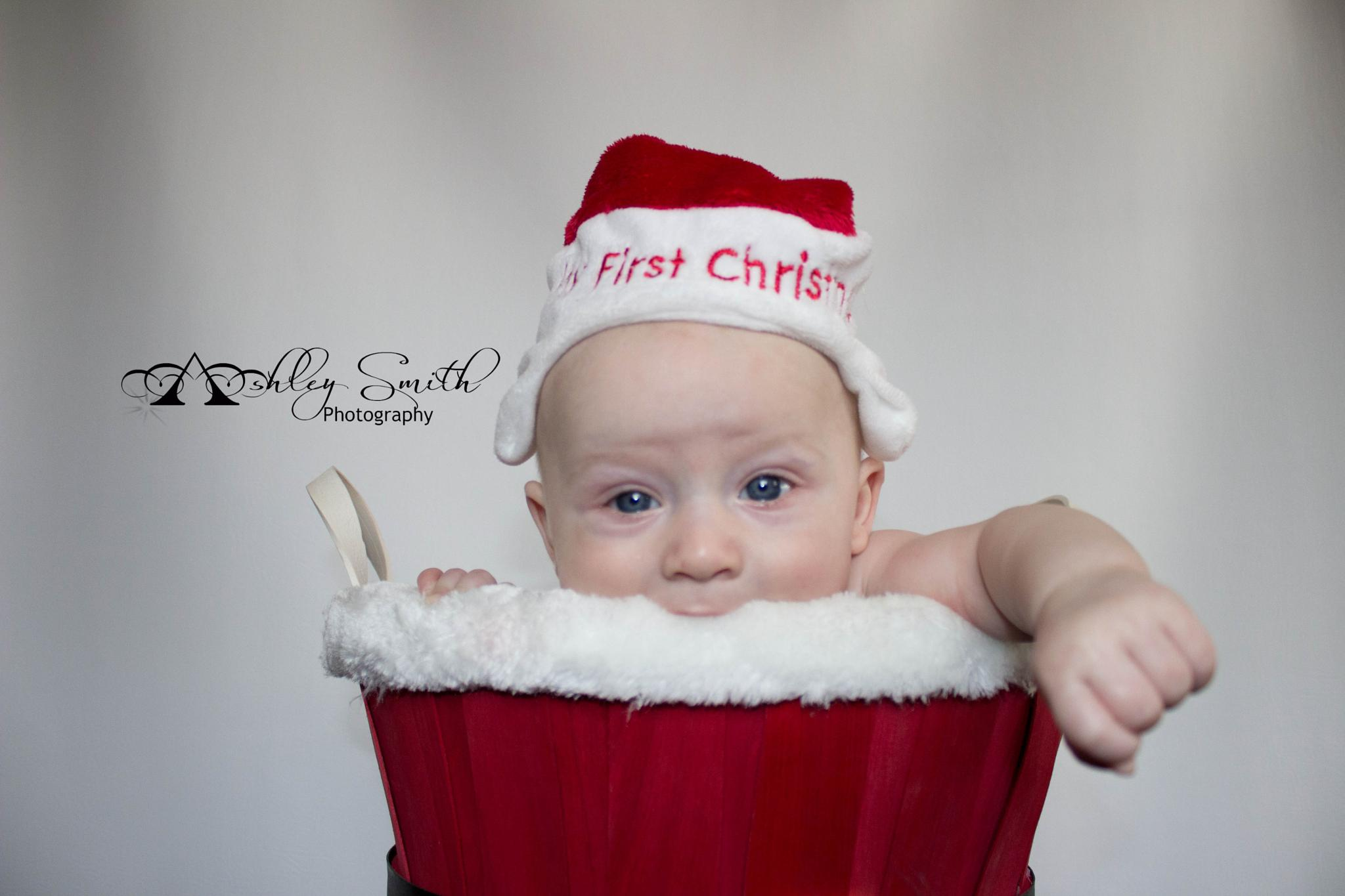 Baby's 1st Christmas by Ashley Smith