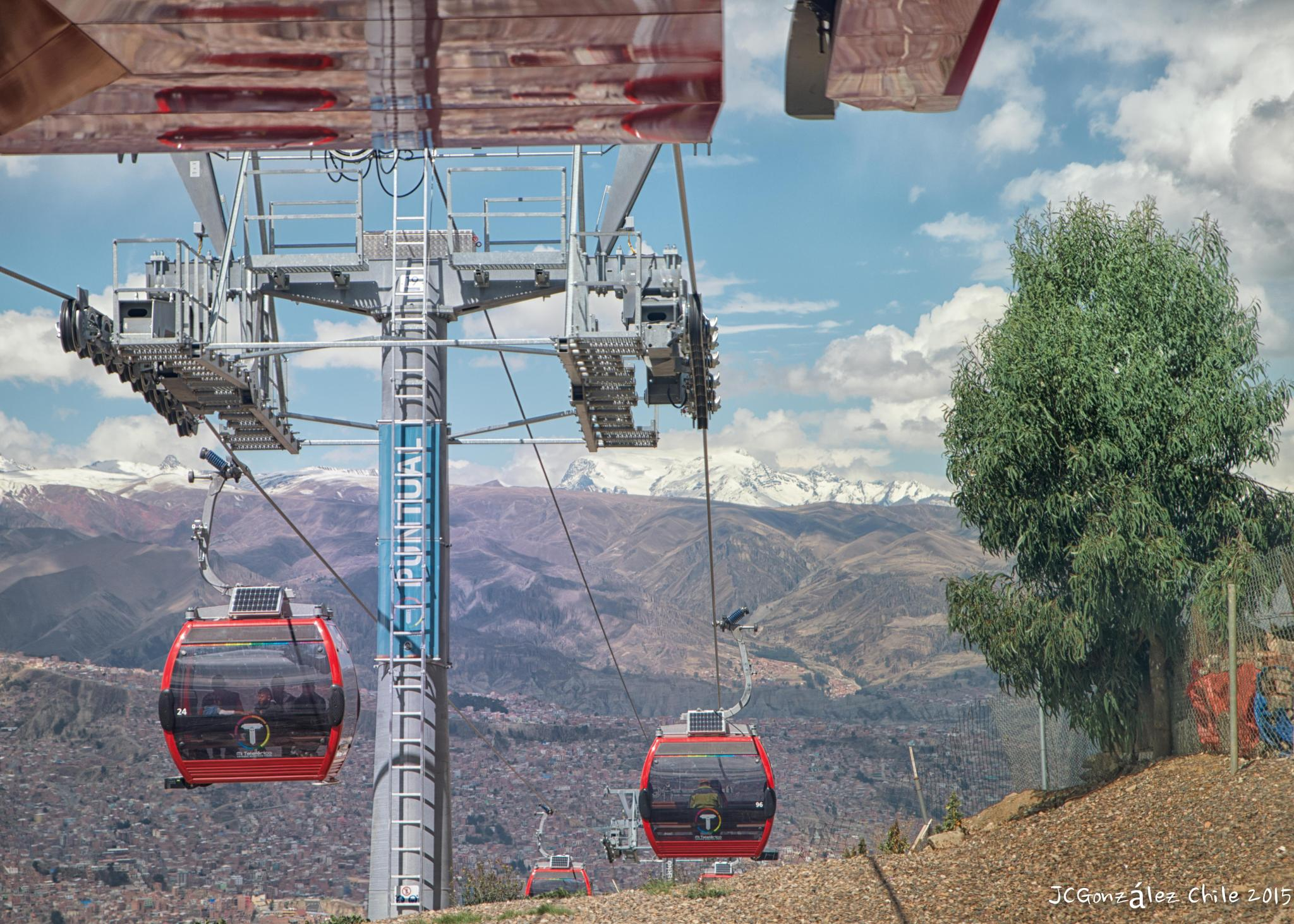 WOW !!!! La Paz cable car - Red Line by JuanCaPhotography