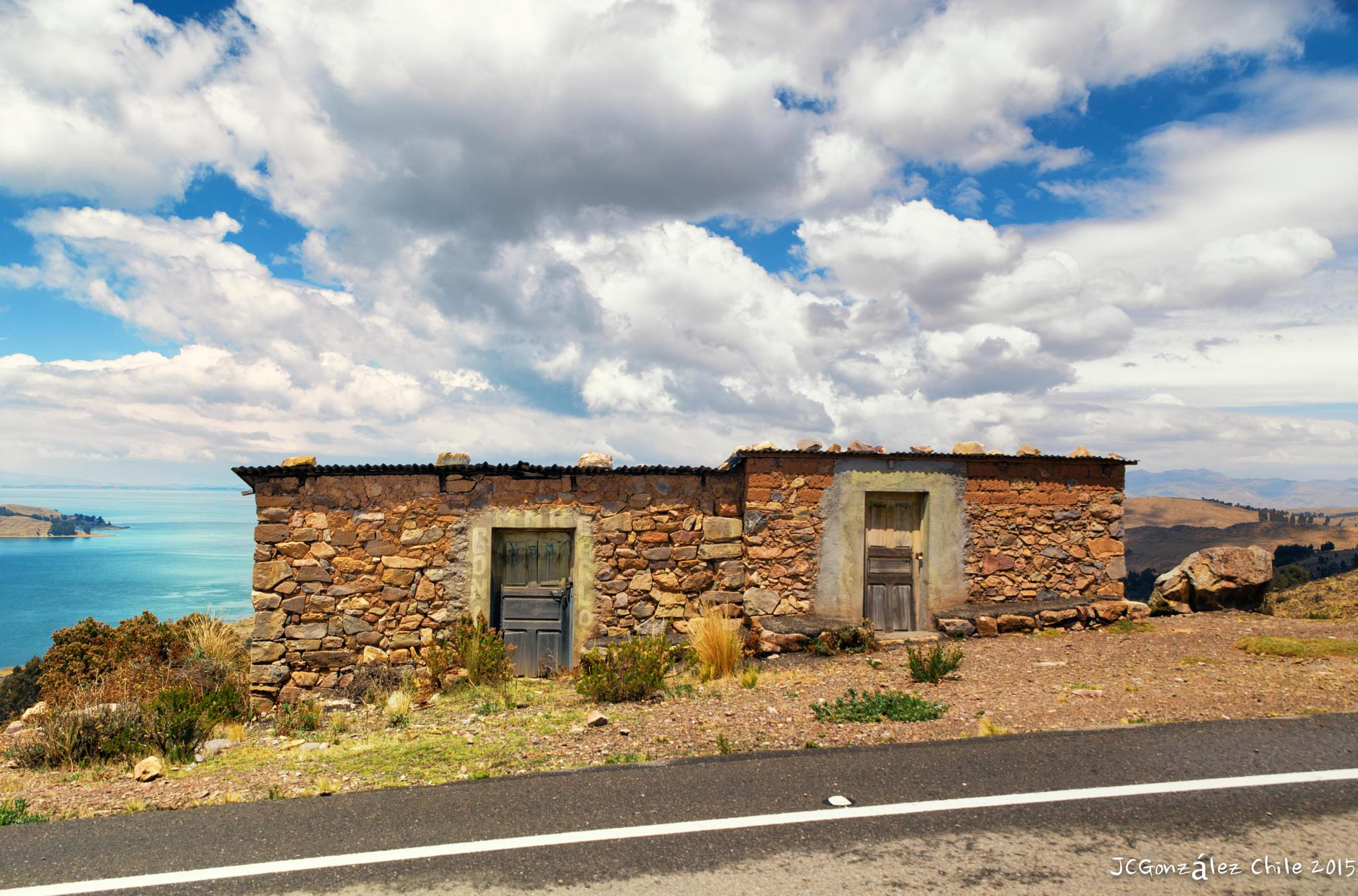 A nice stone house at Titicaca Lake by JuanCaPhotography
