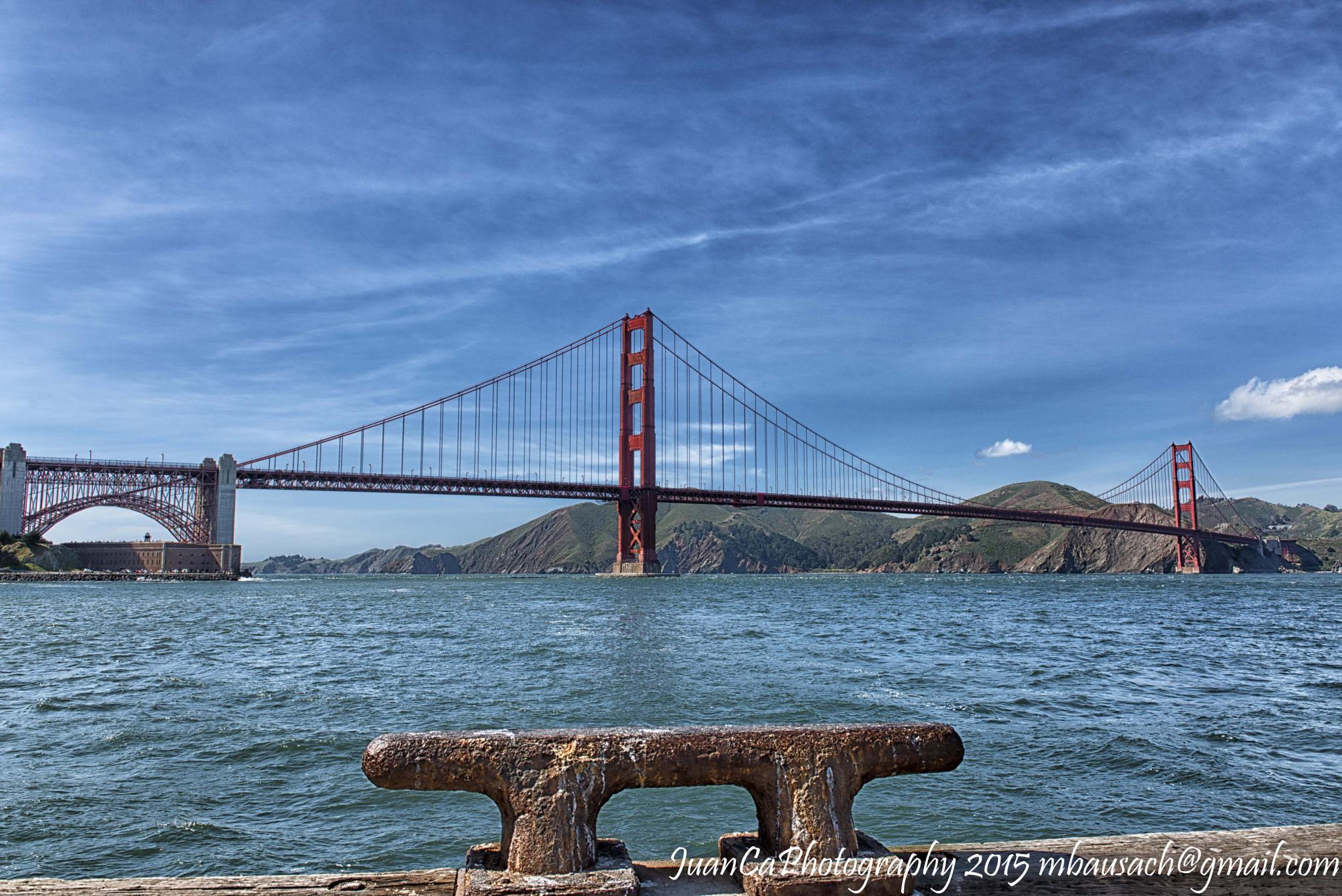 Golden Gate Bridge by JuanCaPhotography