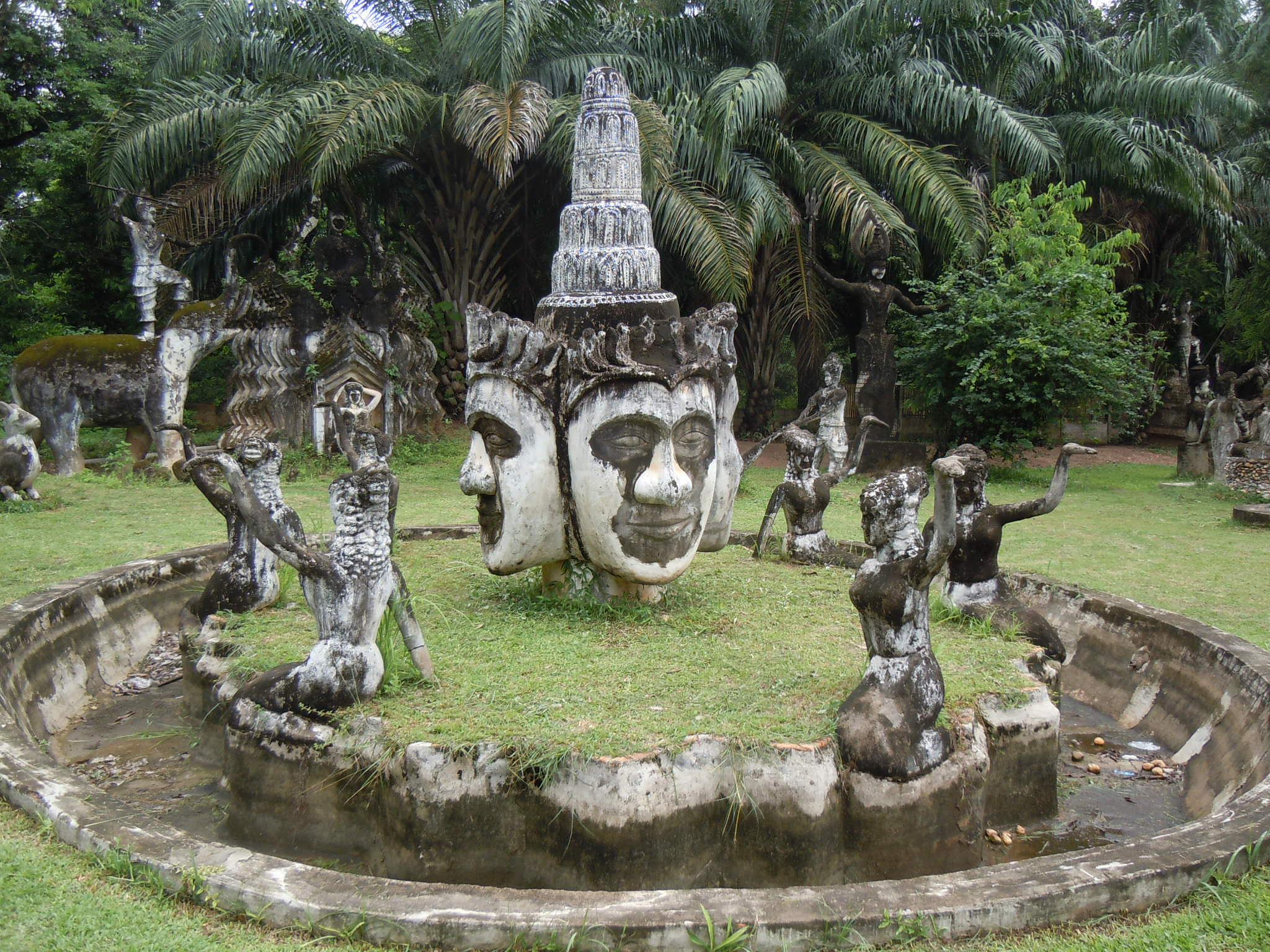 Buddha Park 1 by mitch.lizar