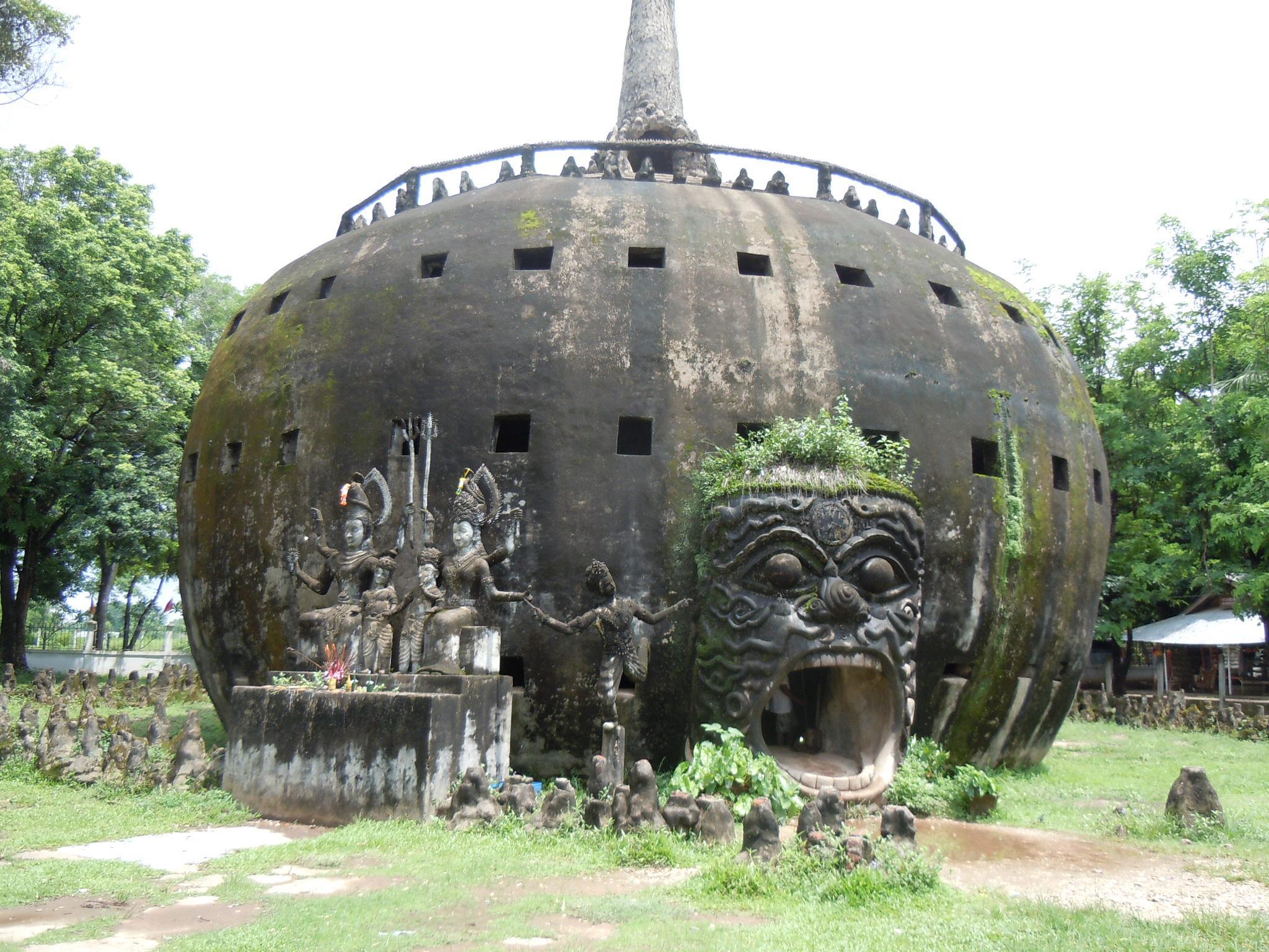 Buddha Park 9 by mitch.lizar
