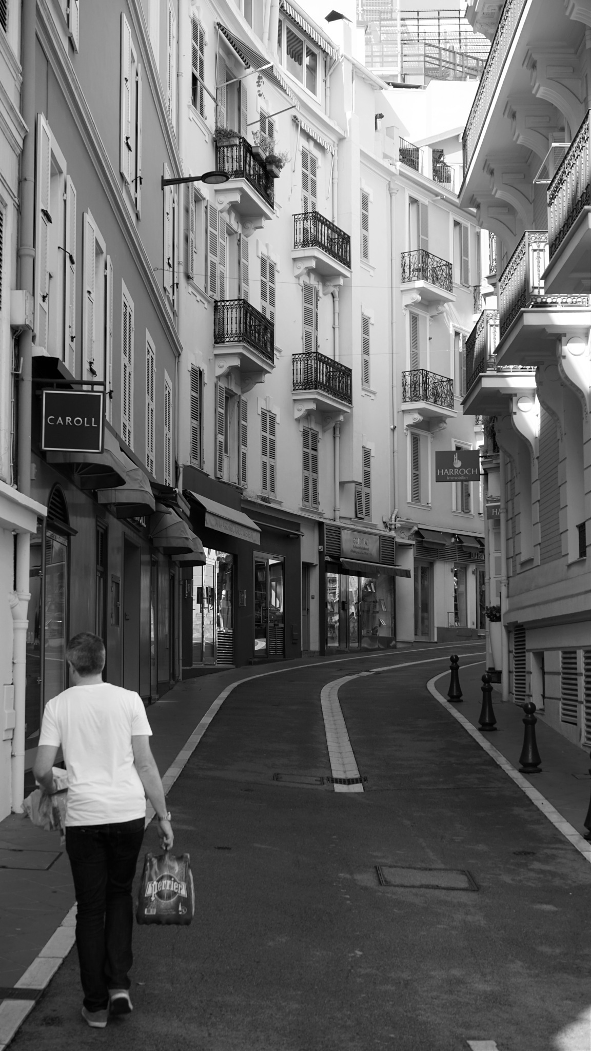 Bringing the shopping home, Monaco by tony cullen