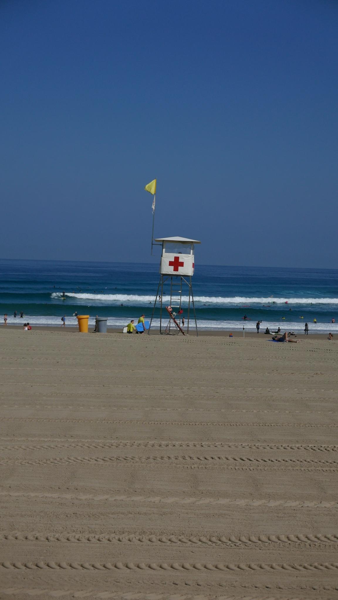 Lifeguard, San Sebastián  by tony cullen