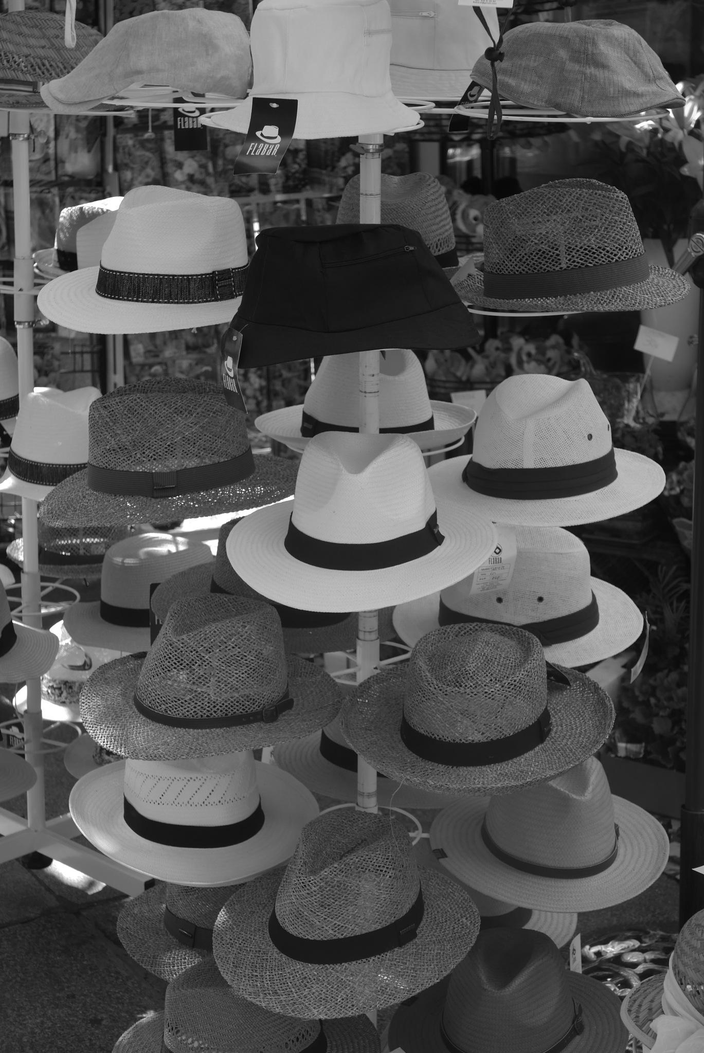 Hats for Sale - Cádiz  by tony cullen