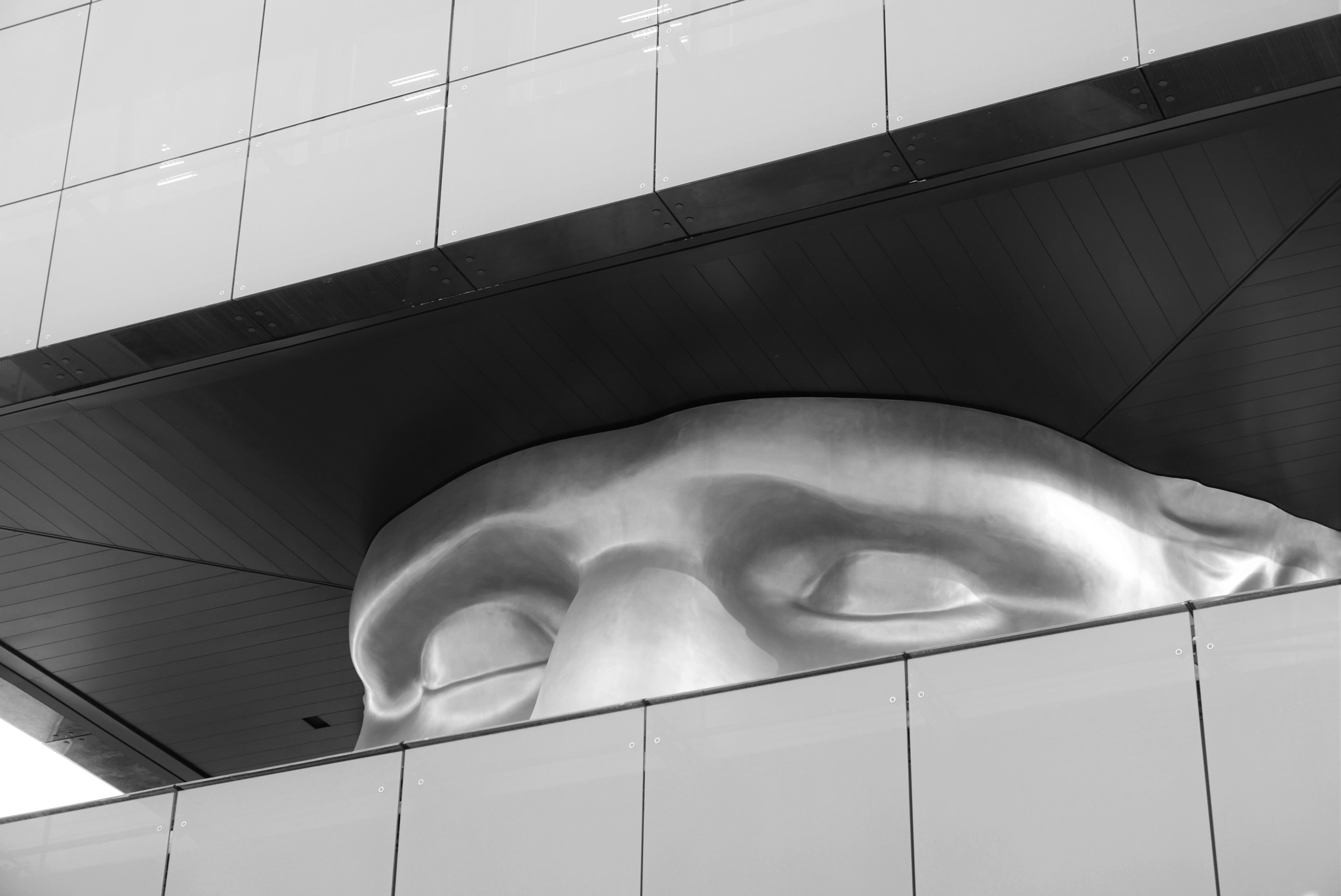 """""""The Watchman""""  (""""Le Guetteur"""" ) Polygone Riviera, Shopping Centre by tony cullen"""