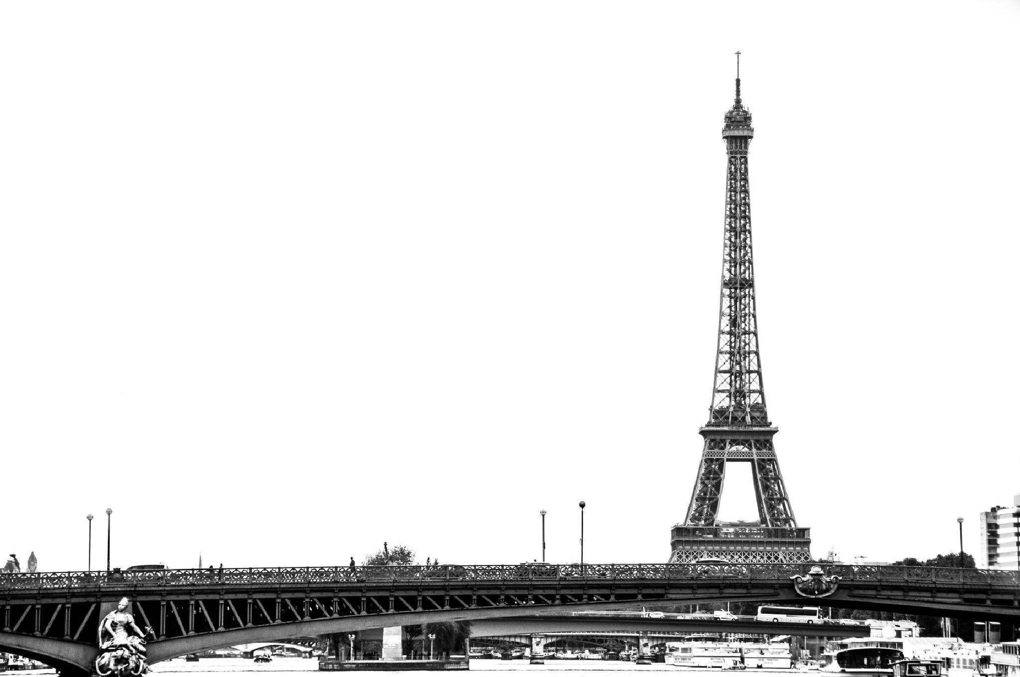 Le Tour Eiffel by JRGt12