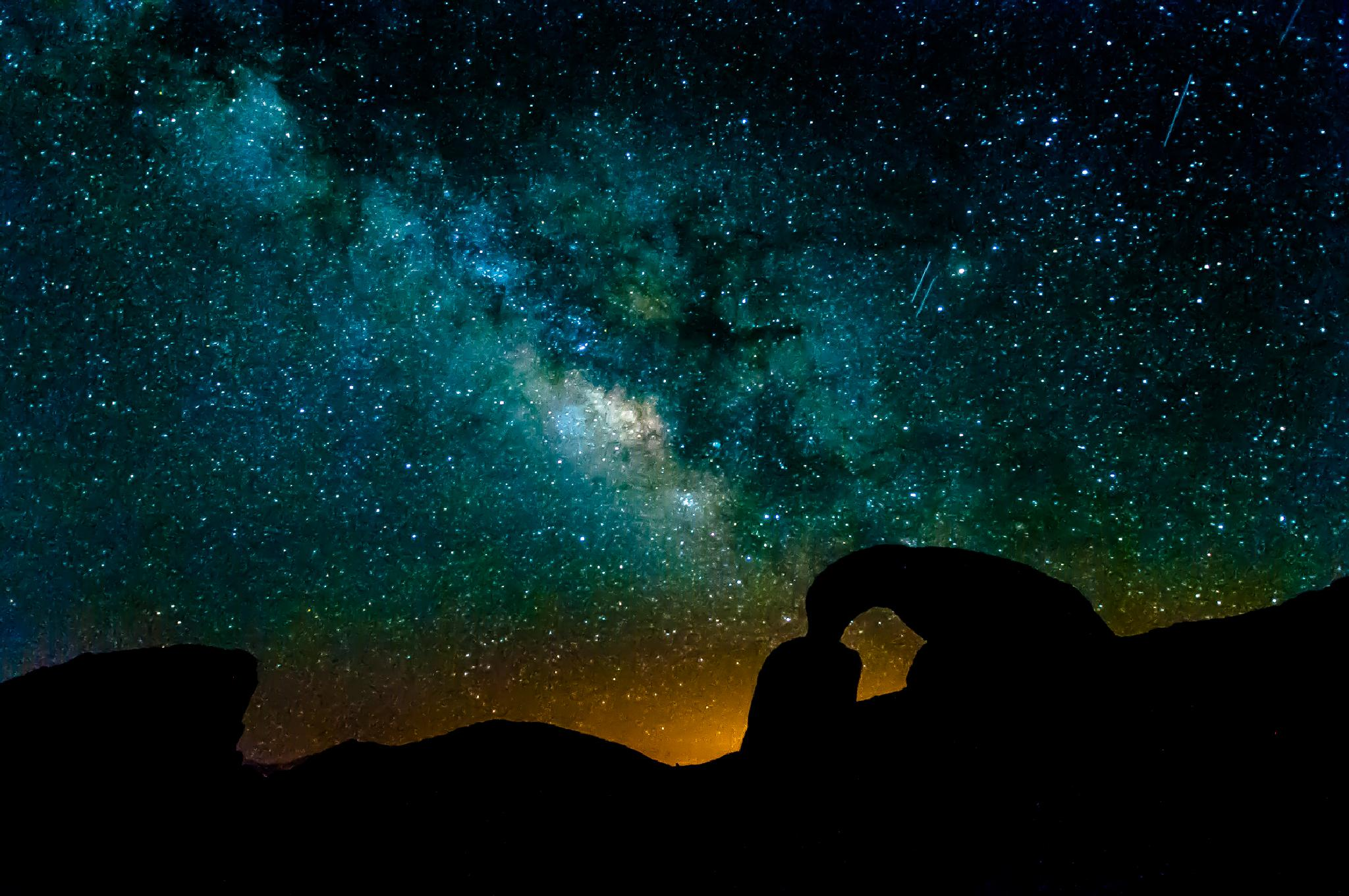 Milky Way Rising by JRGt12