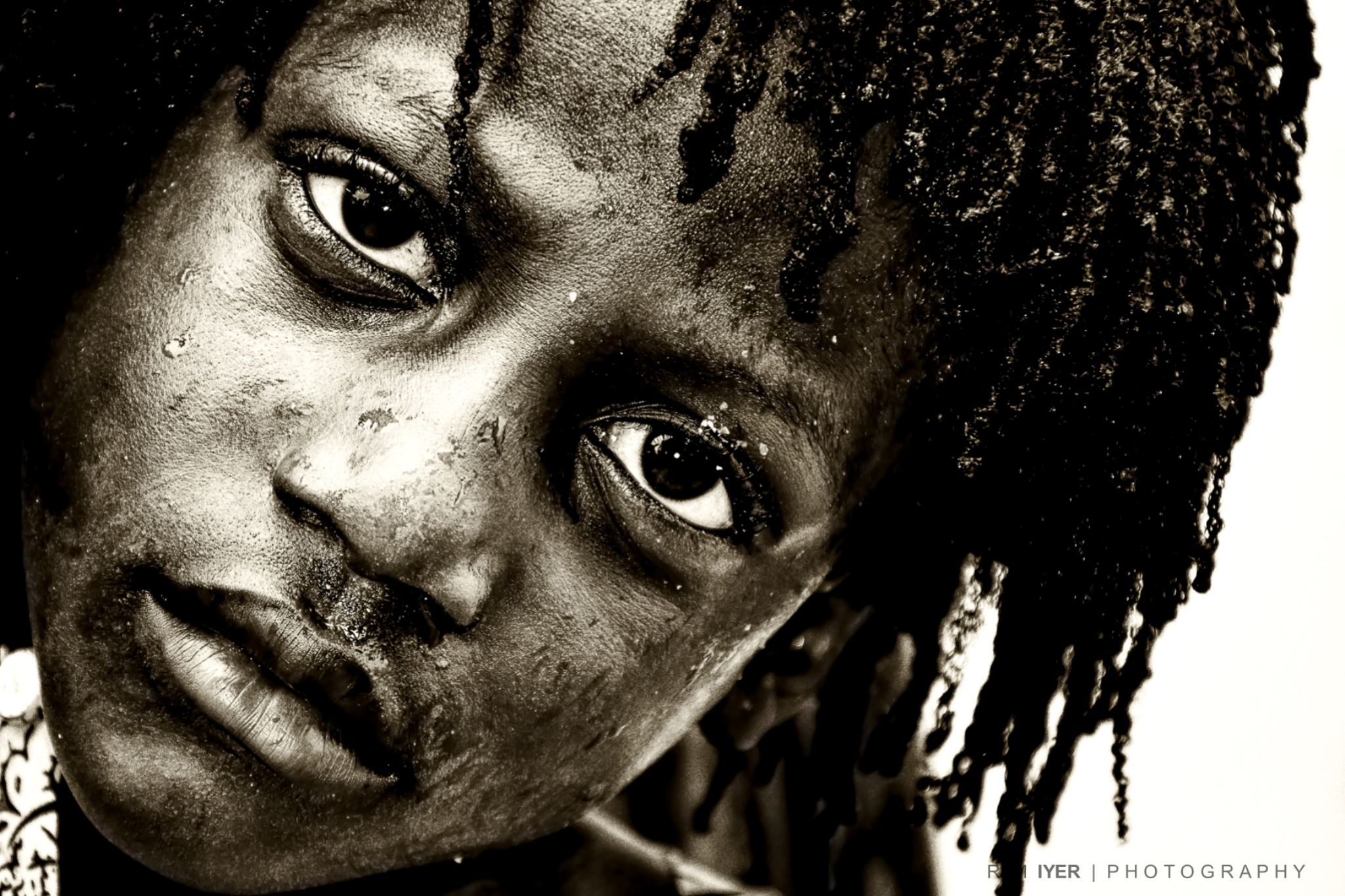 Expression CAPTURED....on the street by Ram Iyer