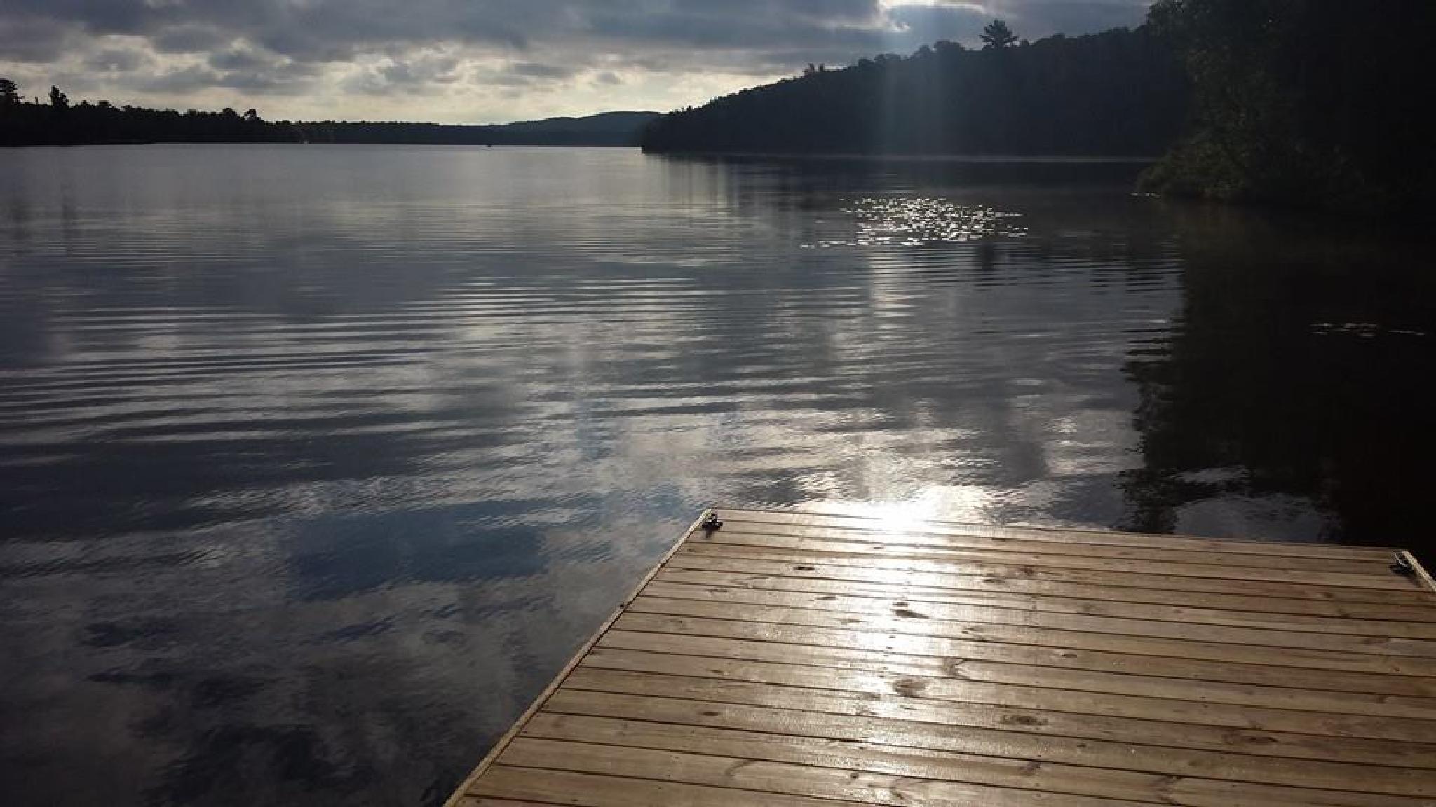 Lake Fanny Hooe early morning by mimi.difrancesca