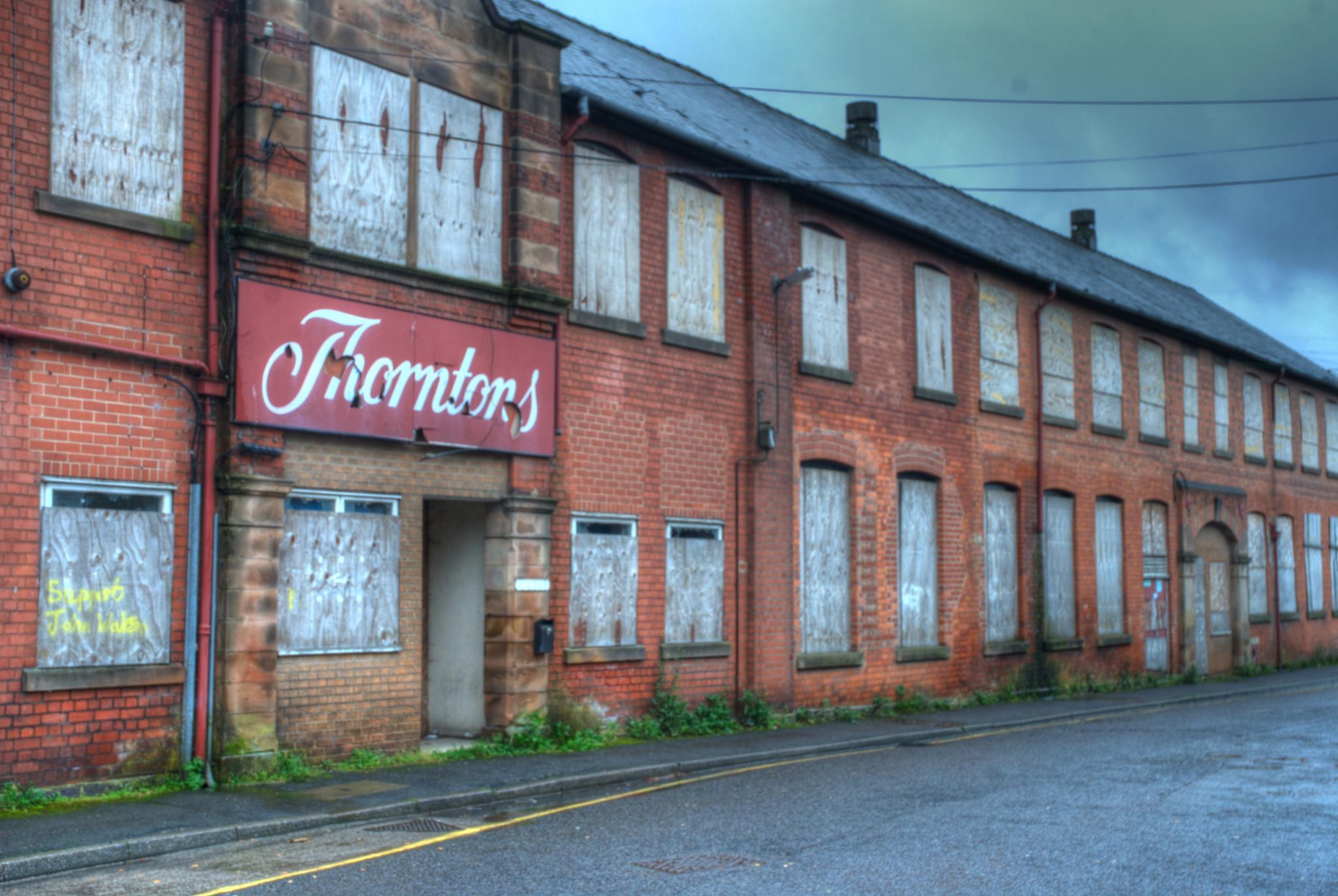Thorntons Factory by KSurelia