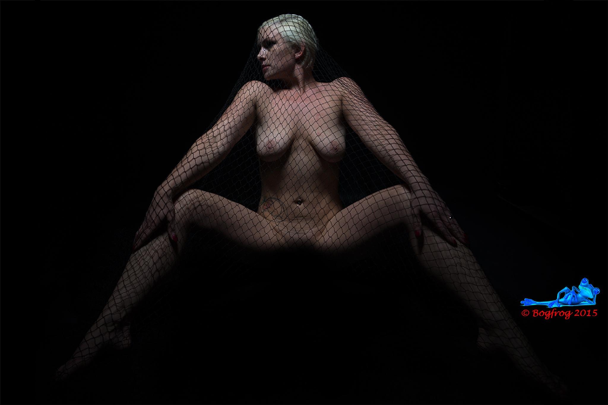 Netted Nude by Bogfrog