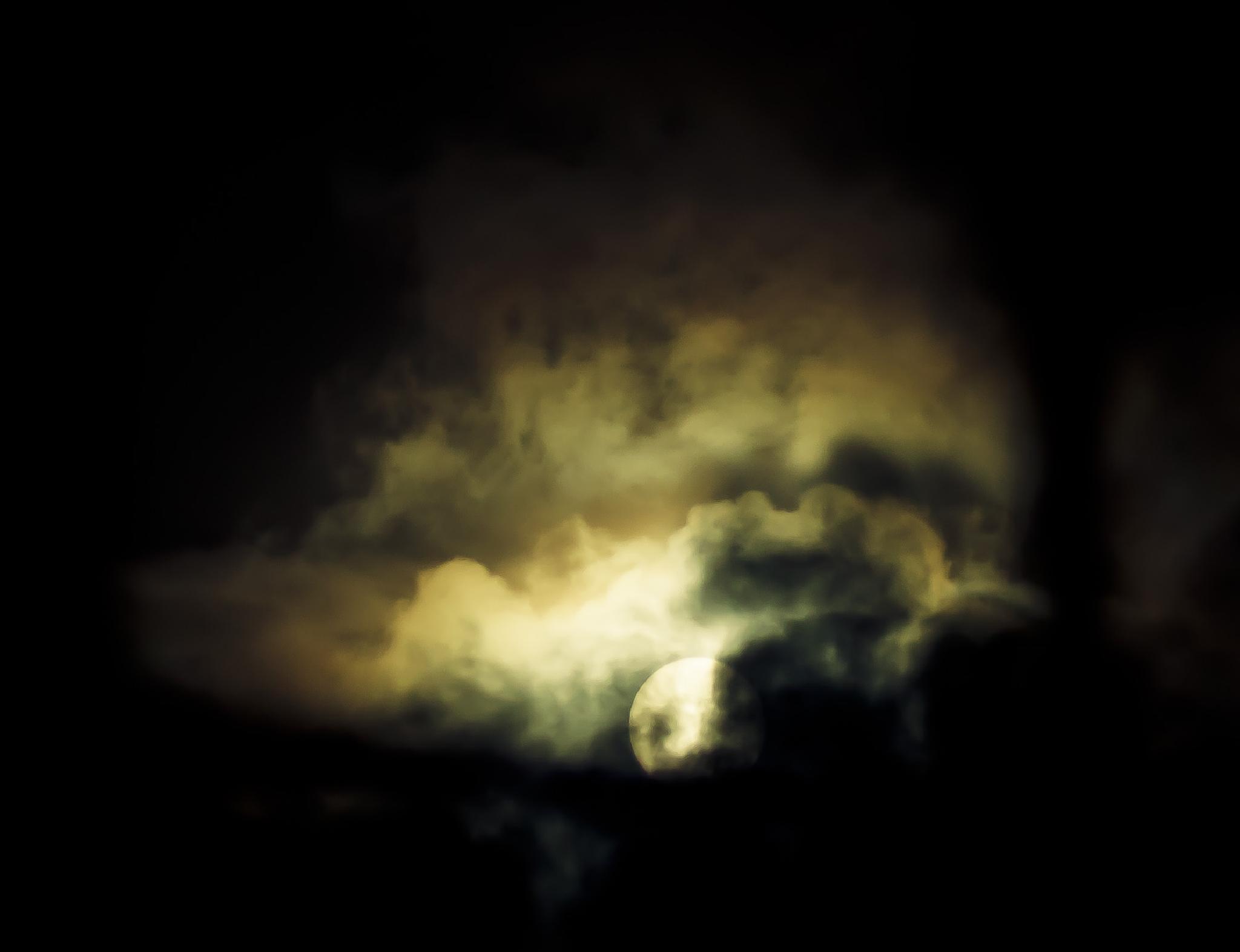 Cloudy Sun by SparkyD90