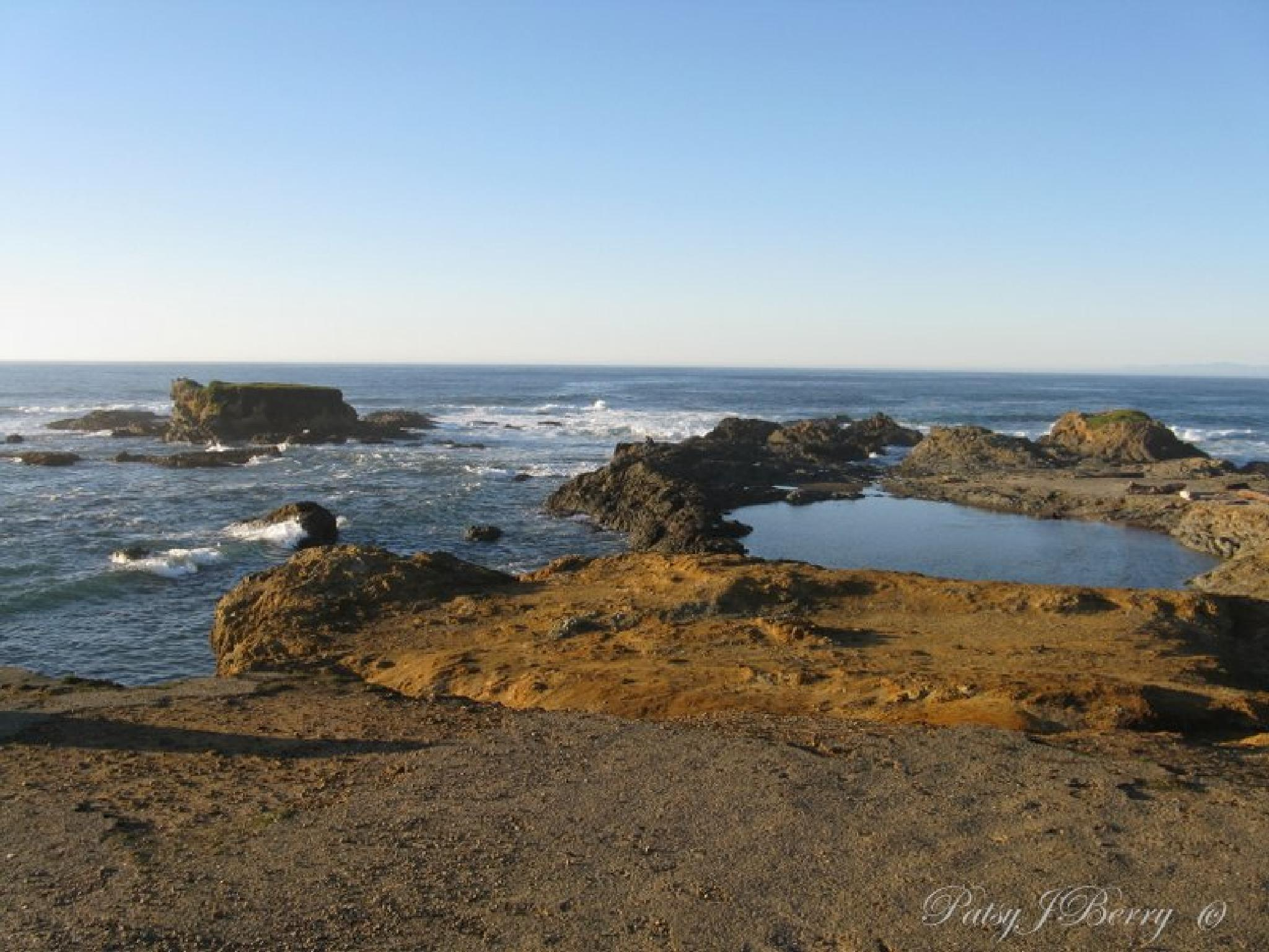 The Pacific Ocean by Kat