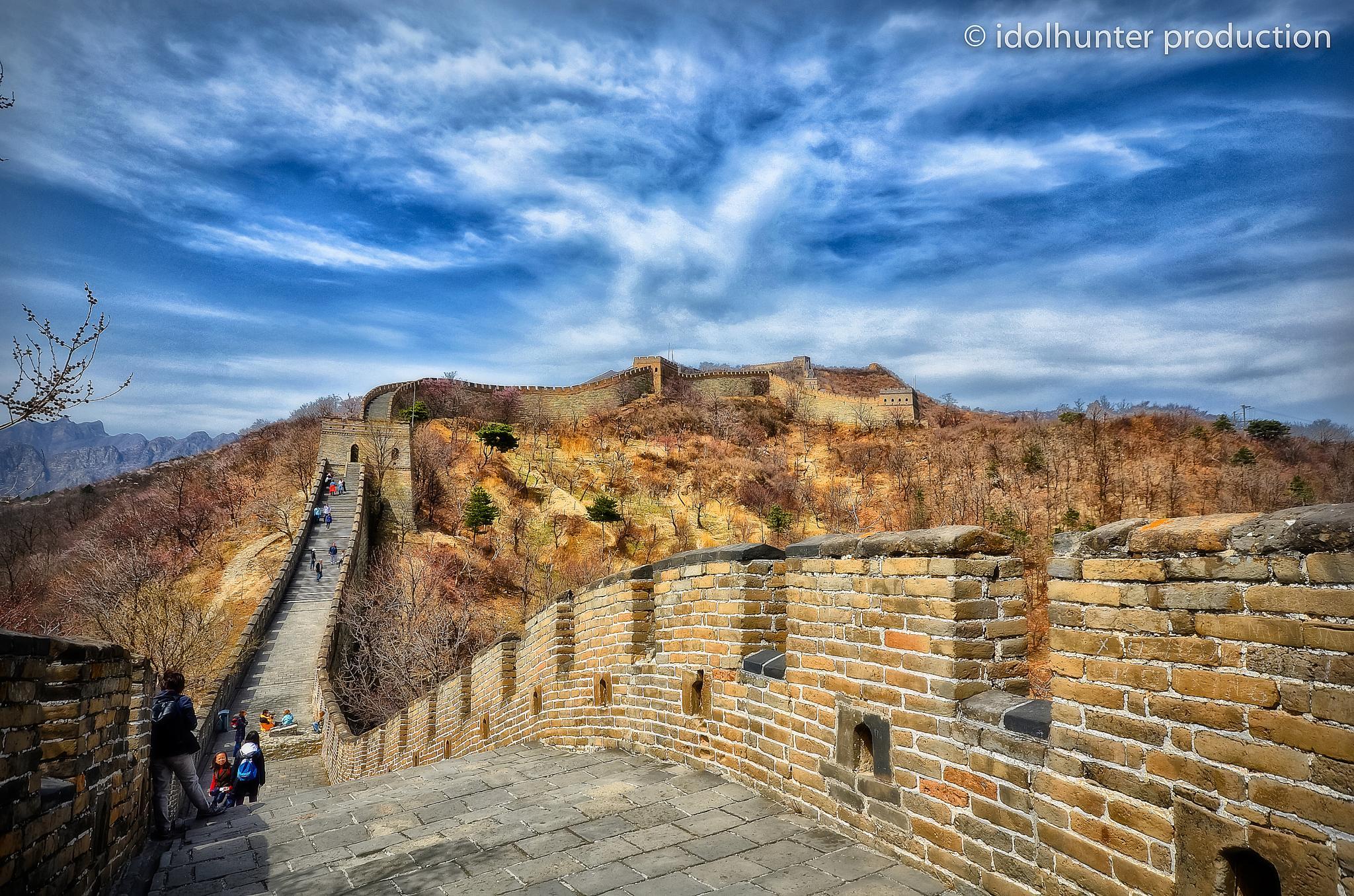 Great Wall of China by idolhunter