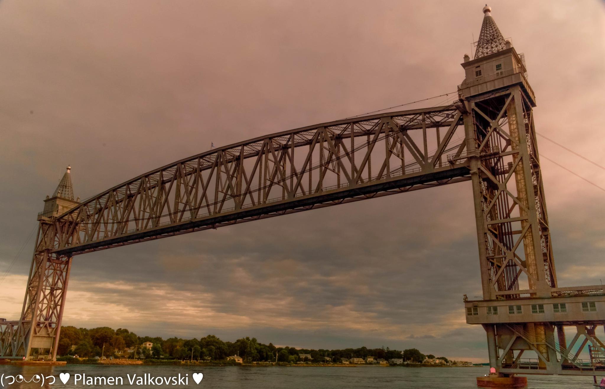 Cape Cod canal bridge by valkovskipv59
