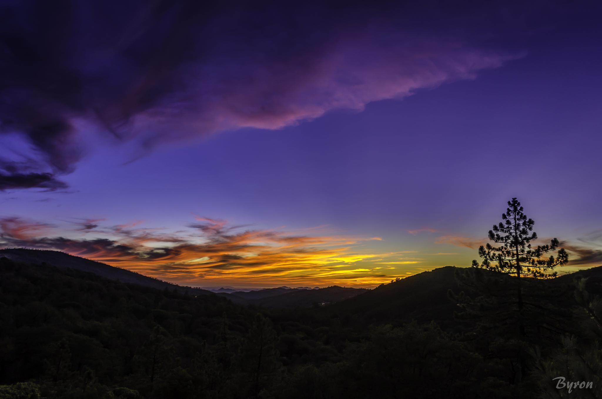 Sunset in Julian by CROFT Photography