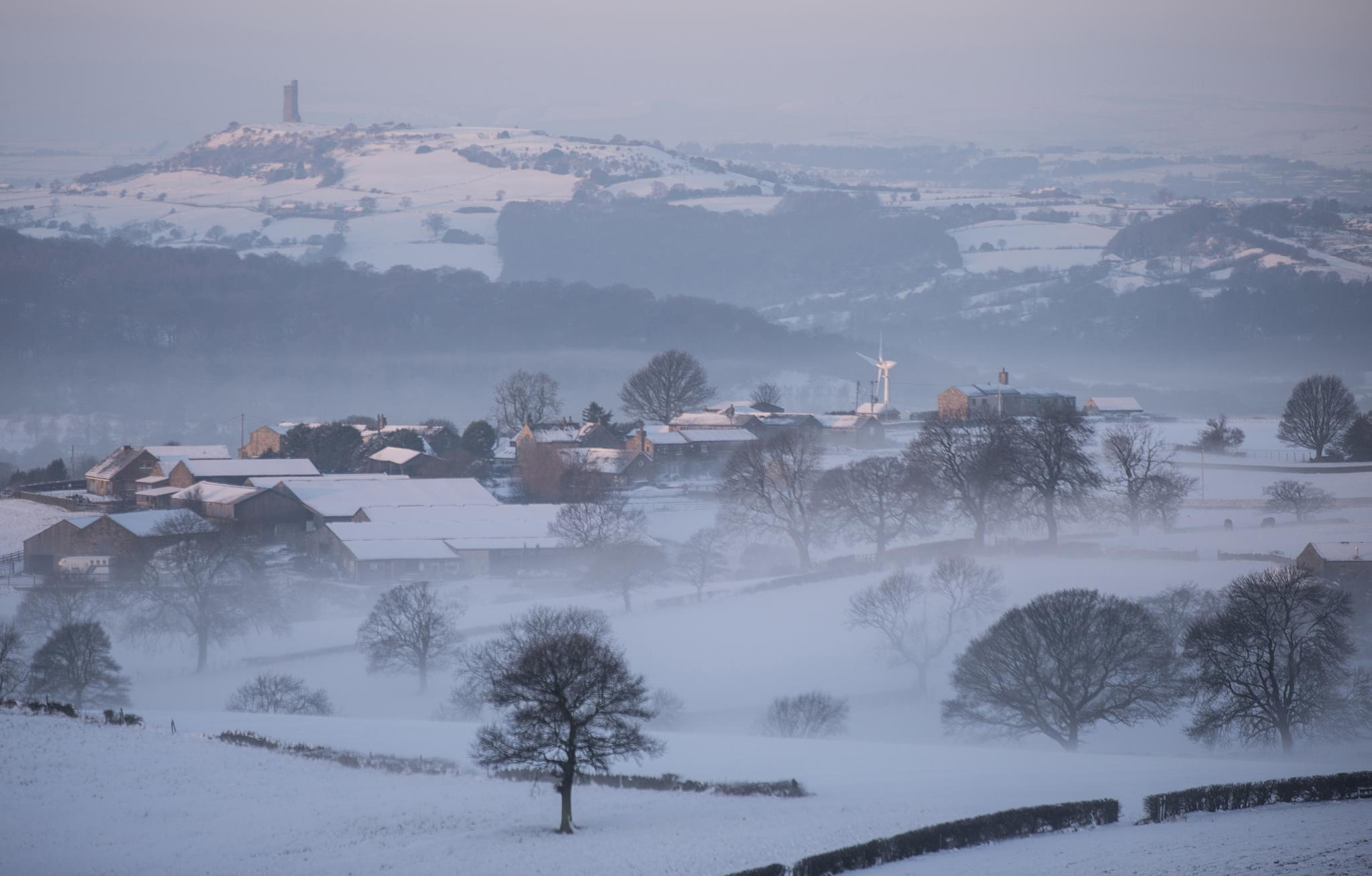 Castle Hill - Kirklees West Yorkshire by Charlotte Graham