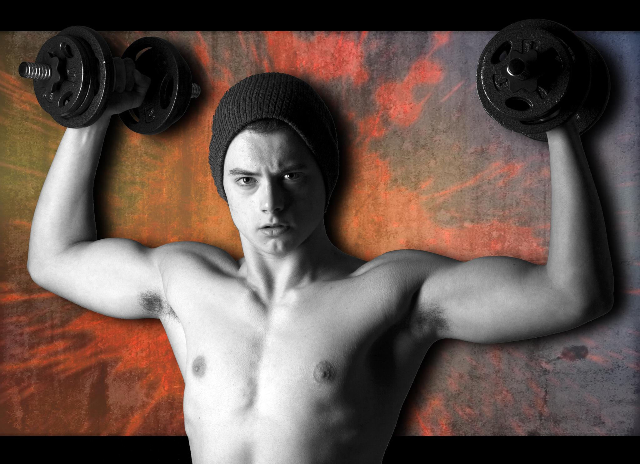Young Bodybuilder by Tenacious_T